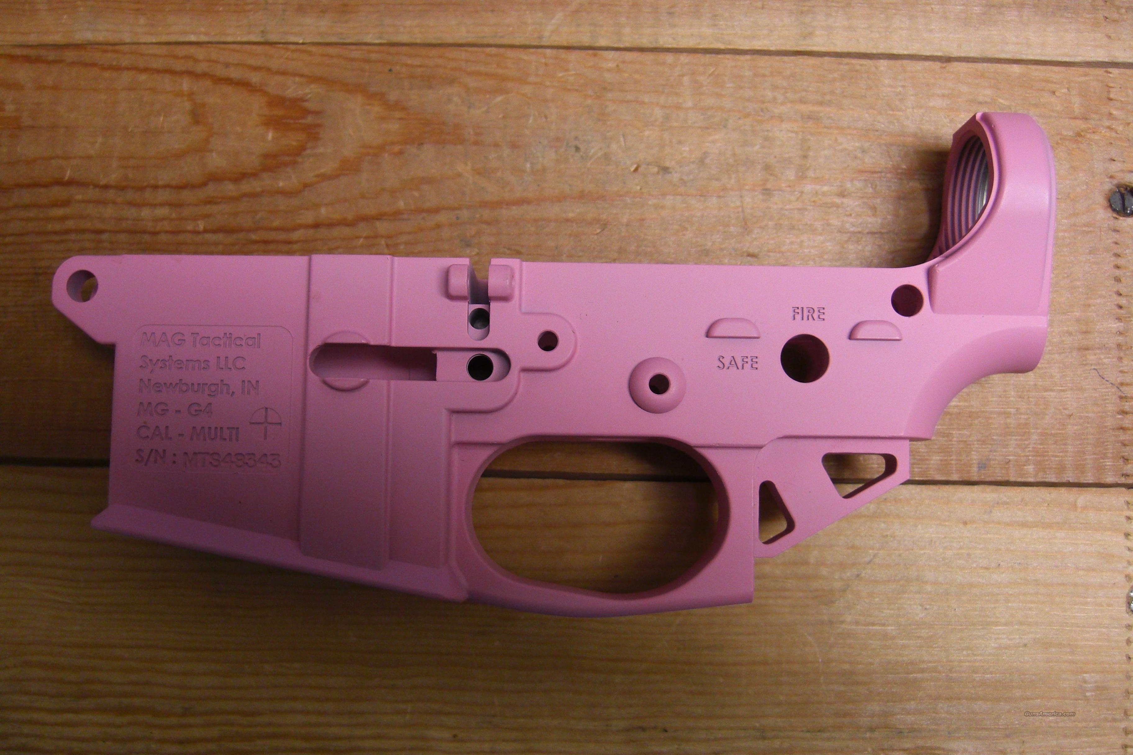 MAG Tactical  Pink receiver  Guns > Rifles > AR-15 Rifles - Small Manufacturers > Lower Only