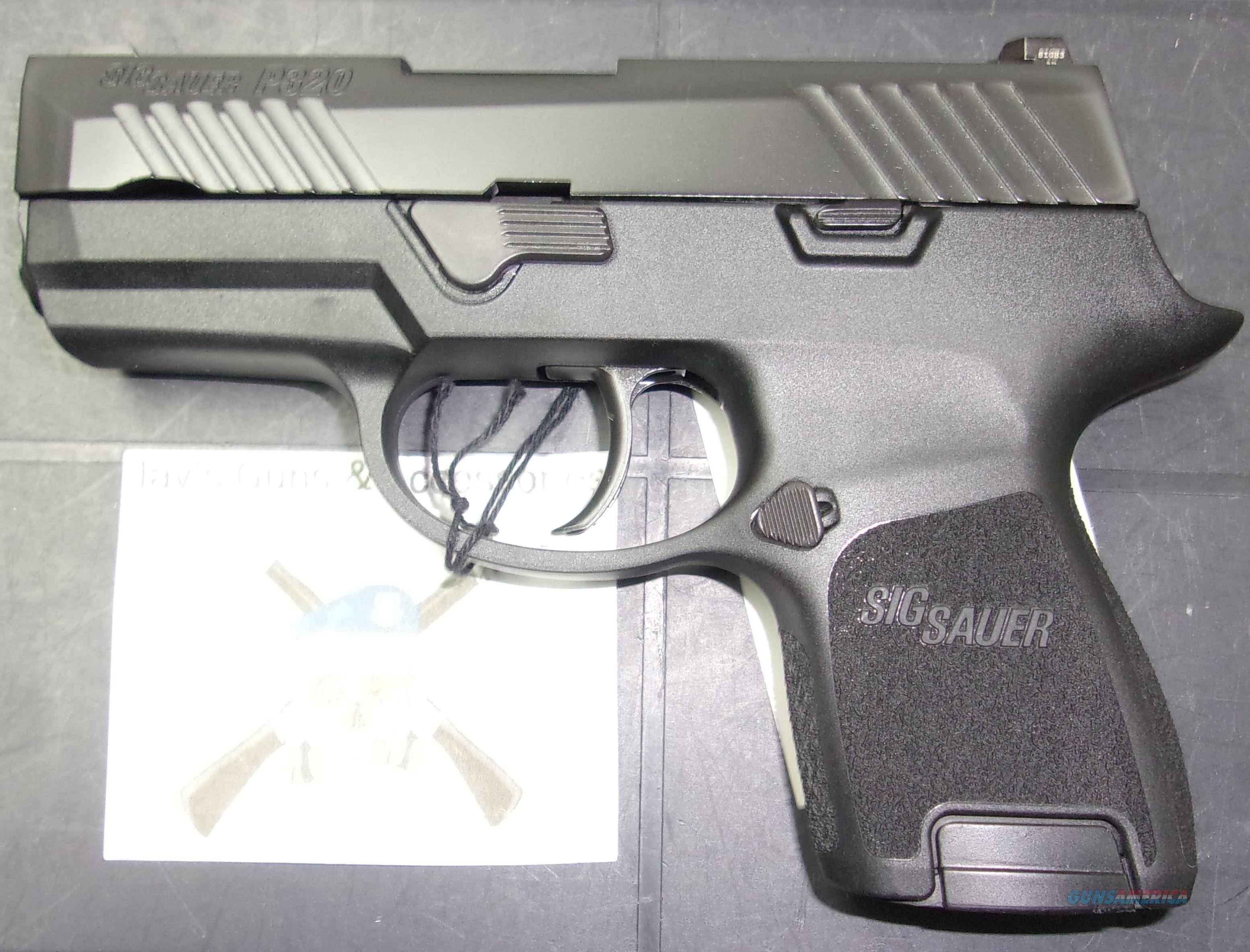 Sig Sauer P320SC (UD320SC-40-B1)  Guns > Pistols > Sig - Sauer/Sigarms Pistols > P320