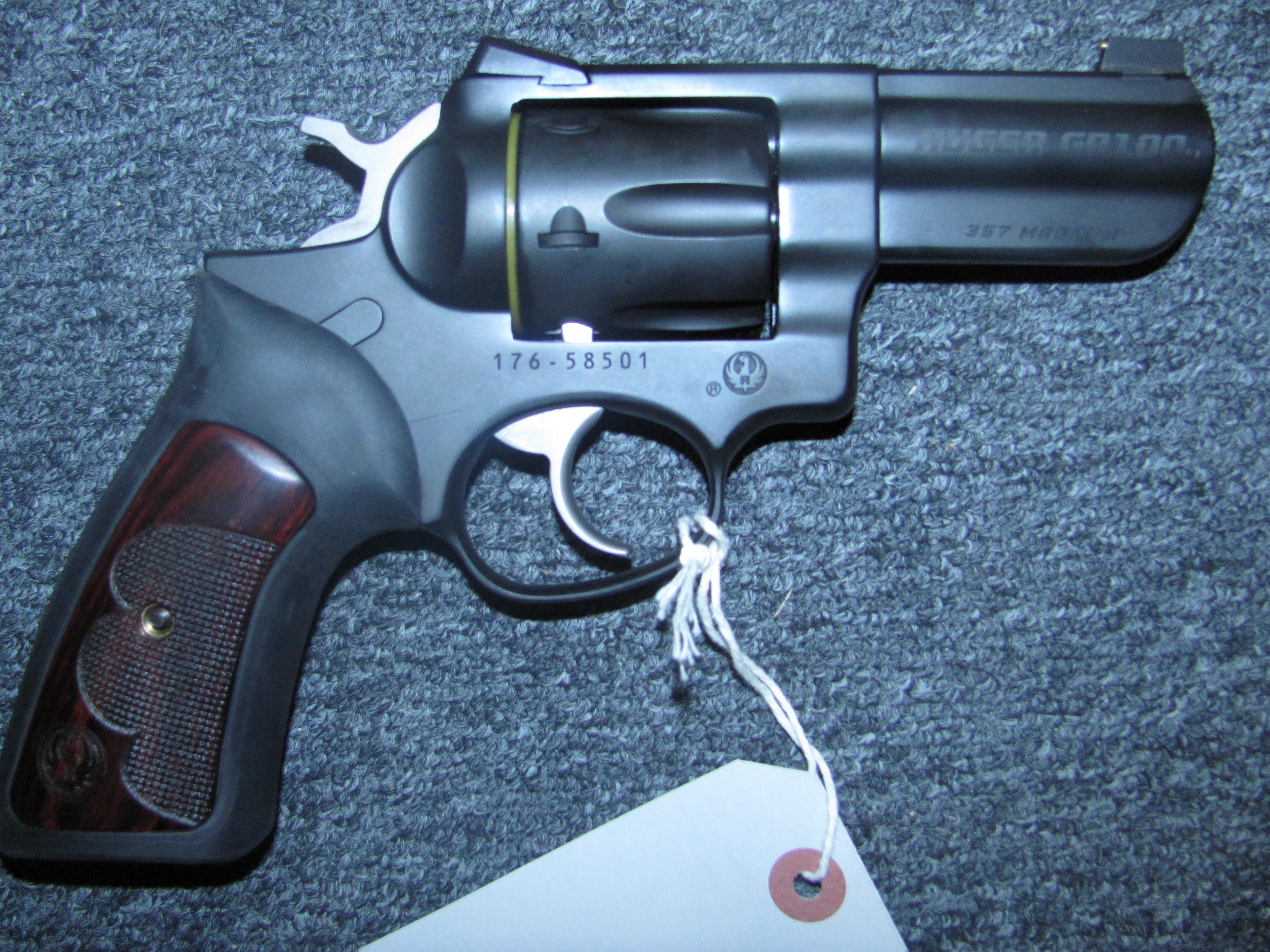GP100 Wiley Clapp  Guns > Pistols > Ruger Double Action Revolver > Security Six Type