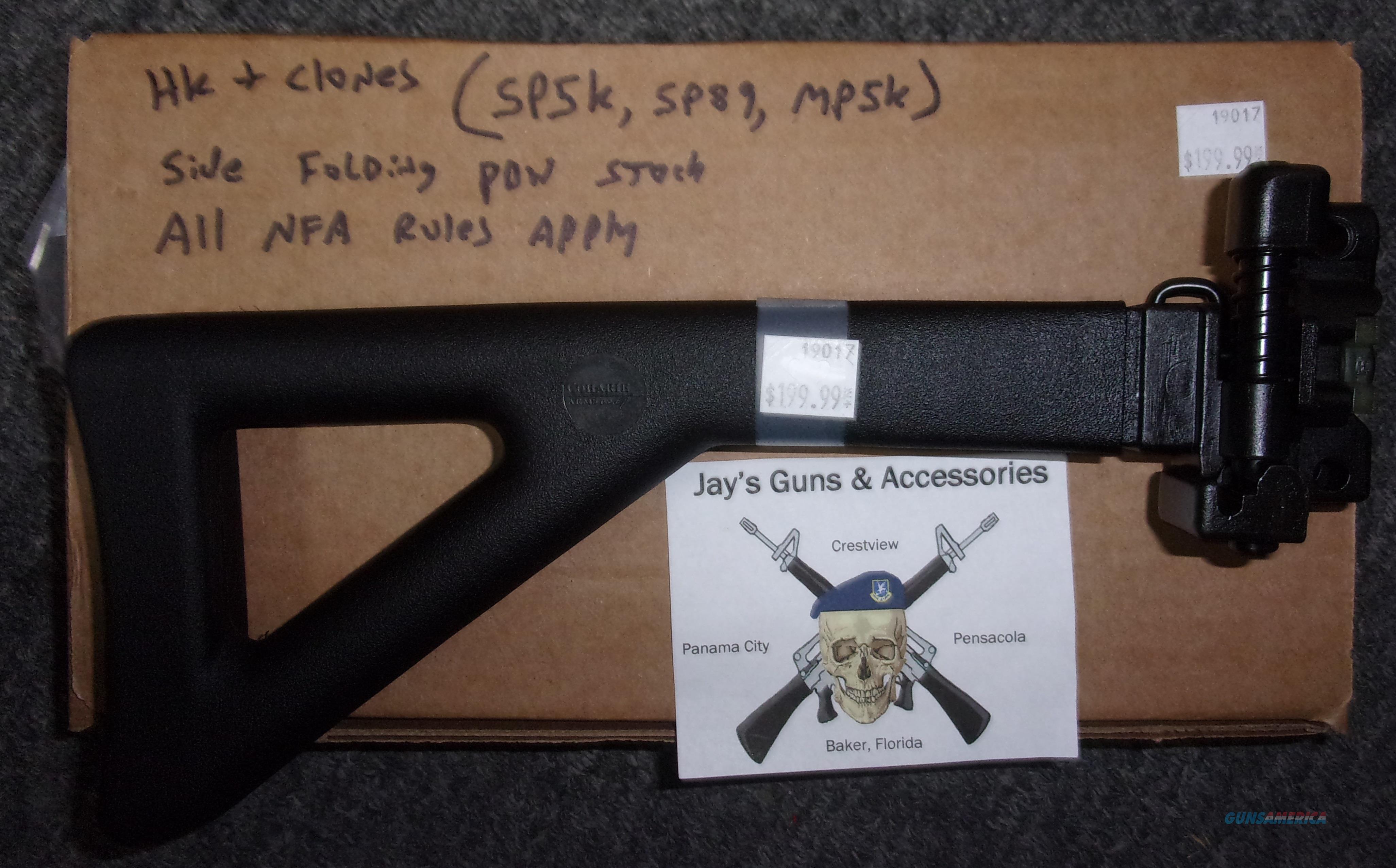 HK & Clones Side Folding PDW Stock  Non-Guns > Gunstocks, Grips & Wood