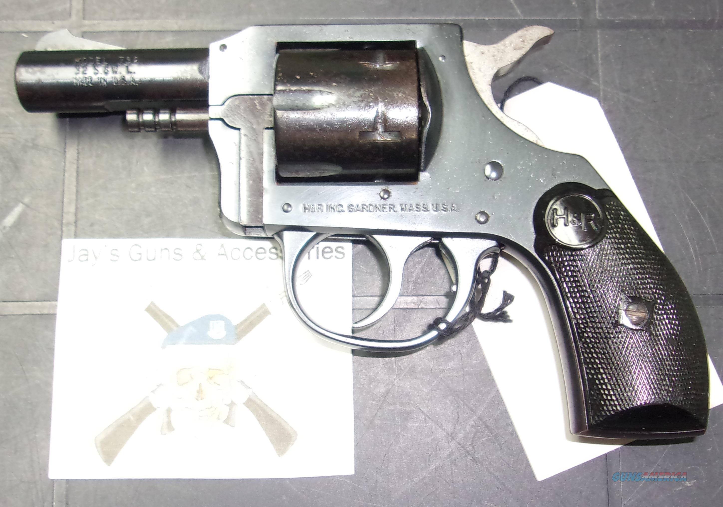 Harrington & Richardson 732 Guardsman  Guns > Pistols > Harrington & Richardson Pistols