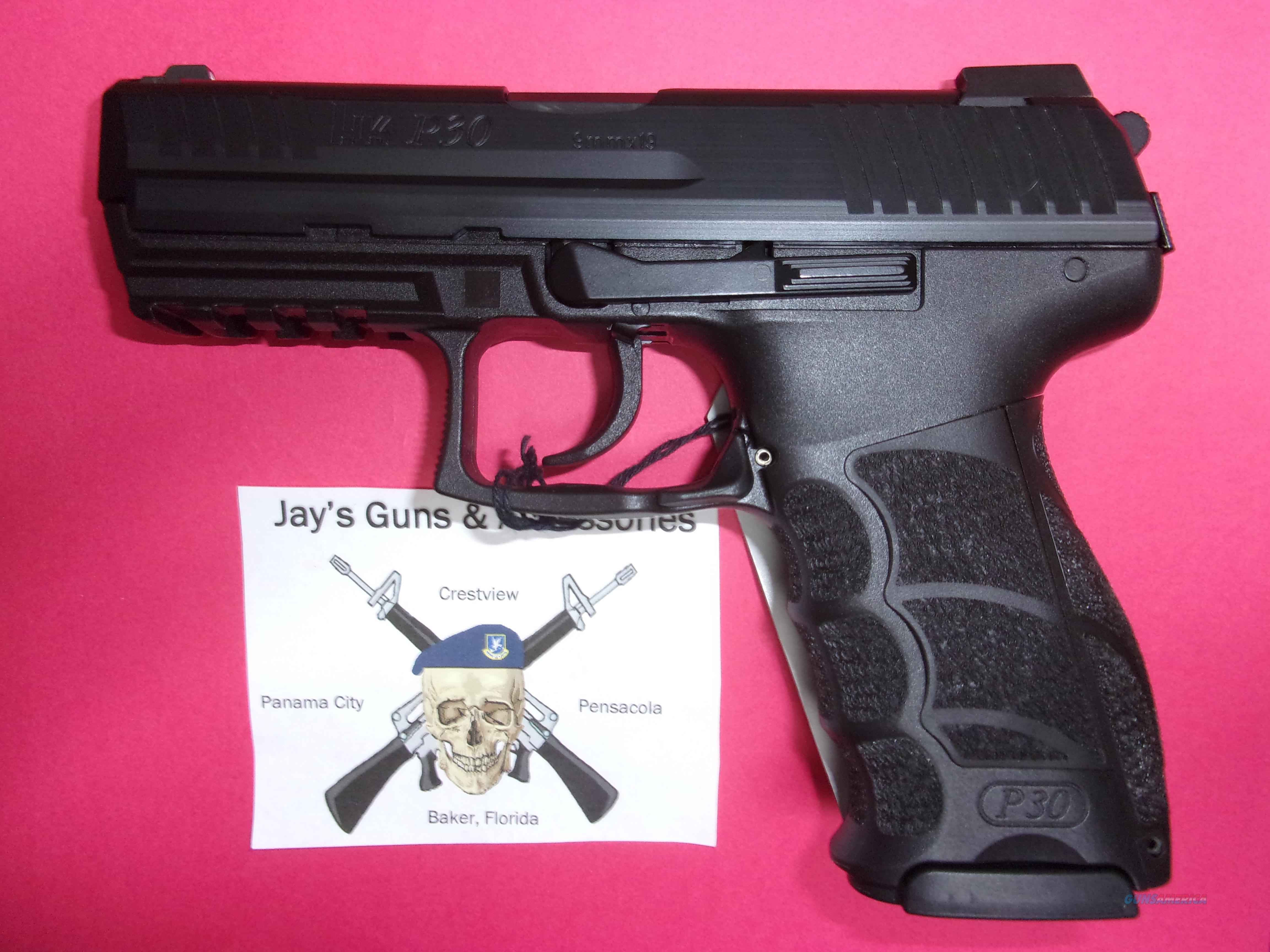 Heckler & Koch P30 V3 w/Night Sights  Guns > Pistols > Heckler & Koch Pistols > Polymer Frame