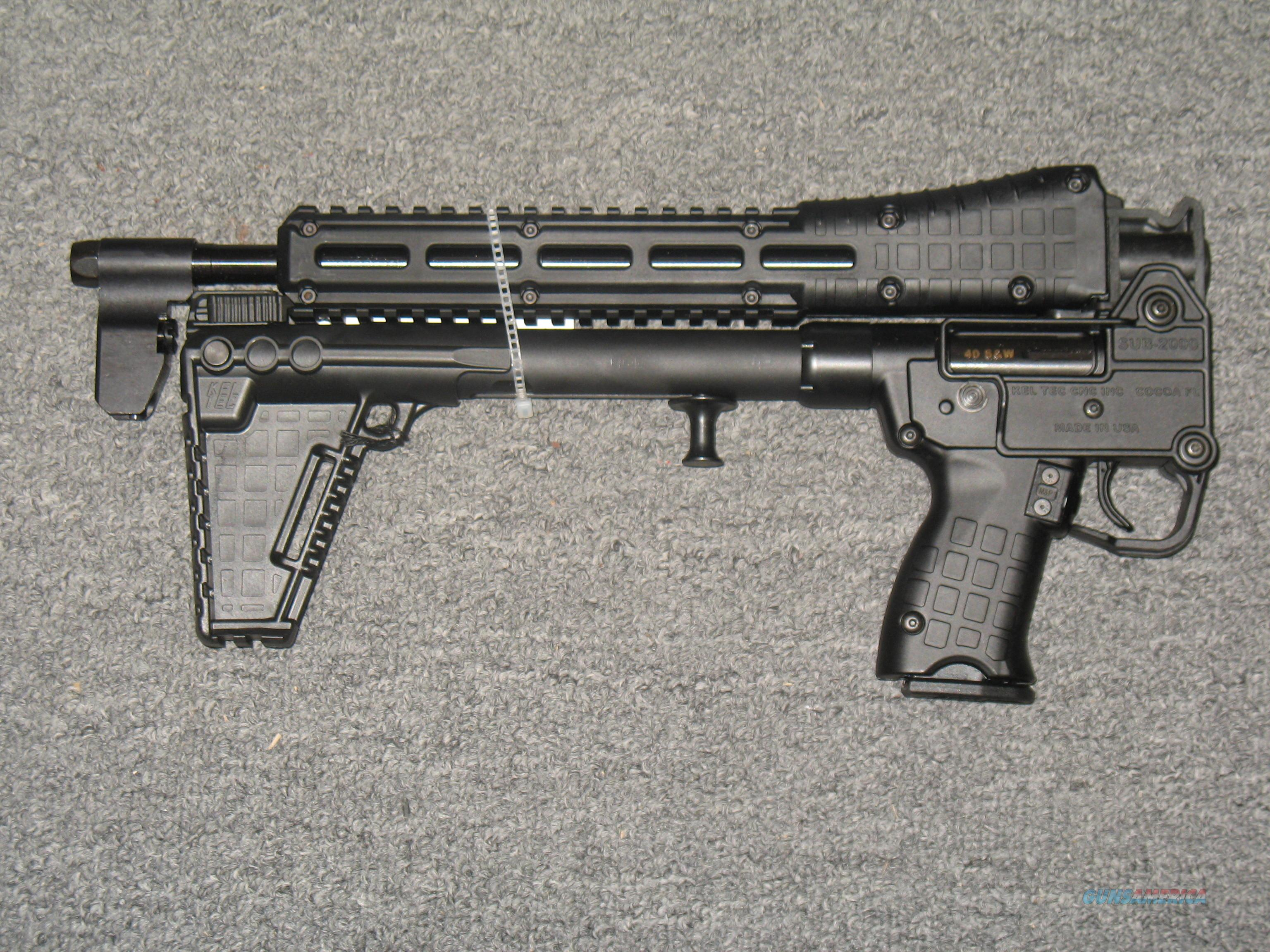 Kel-Tec Sub-2000 Gen 2 Uses S&W M&P9 Mags  Guns > Rifles > Kel-Tec Rifles