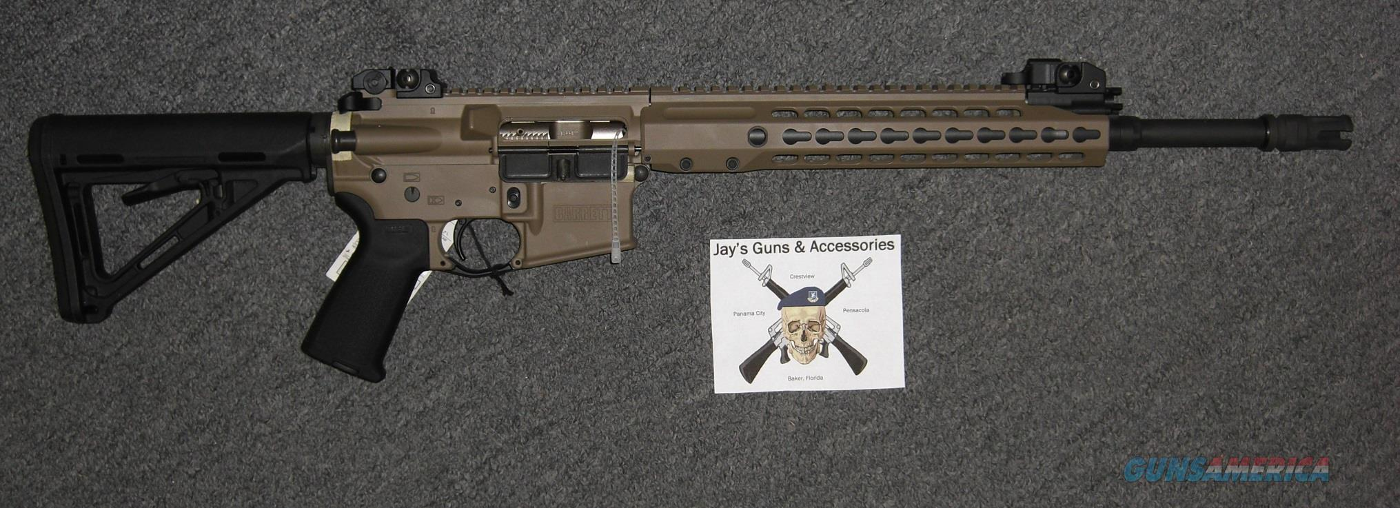 Barrett REC 7 Gen 2 w/FDE Finish in 6.8 spc  Guns > Rifles > Barrett Rifles