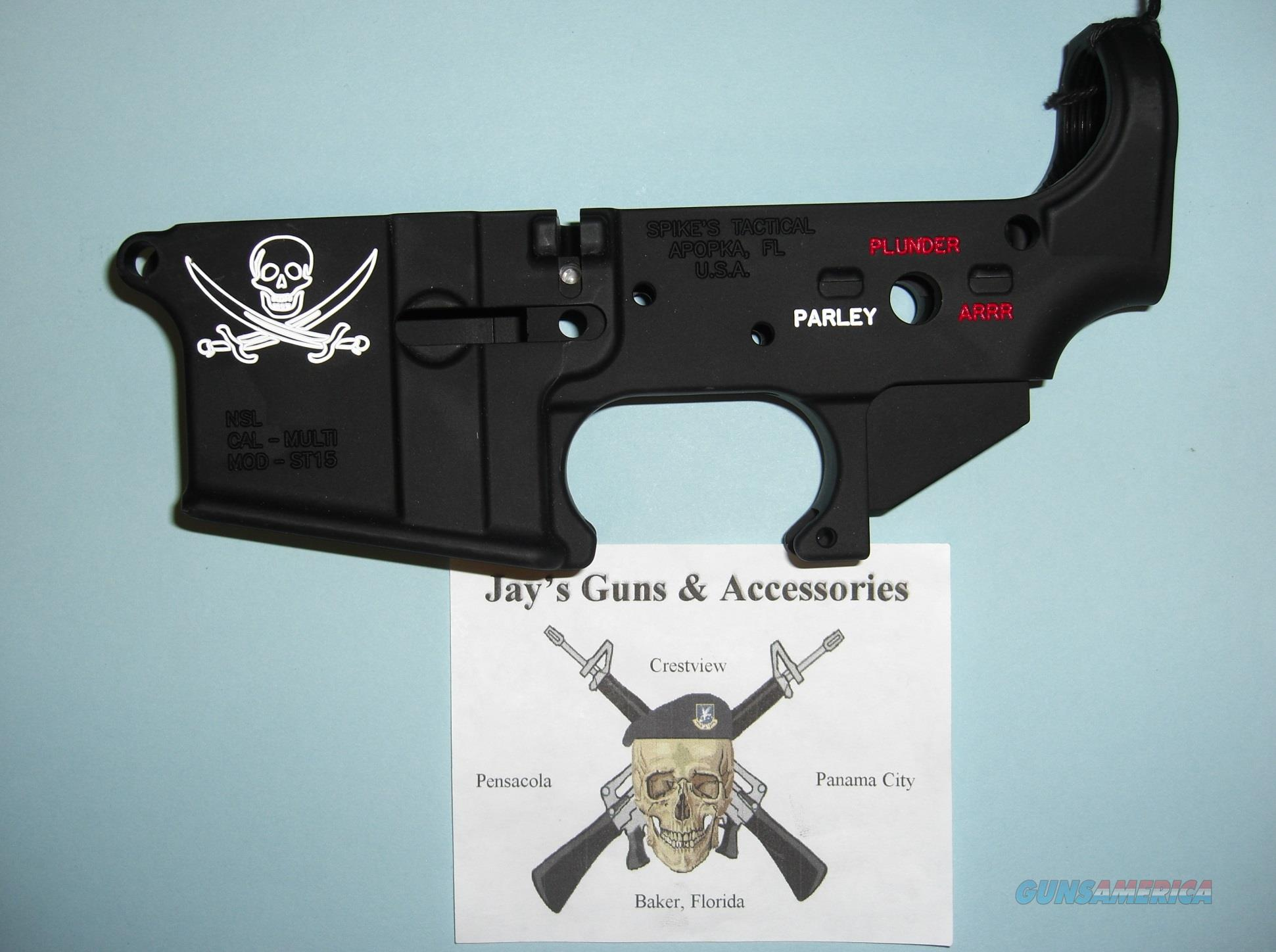 Spike's Tactical ST-15 Calico Jack *Lower Only*  Guns > Rifles > AR-15 Rifles - Small Manufacturers > Lower Only