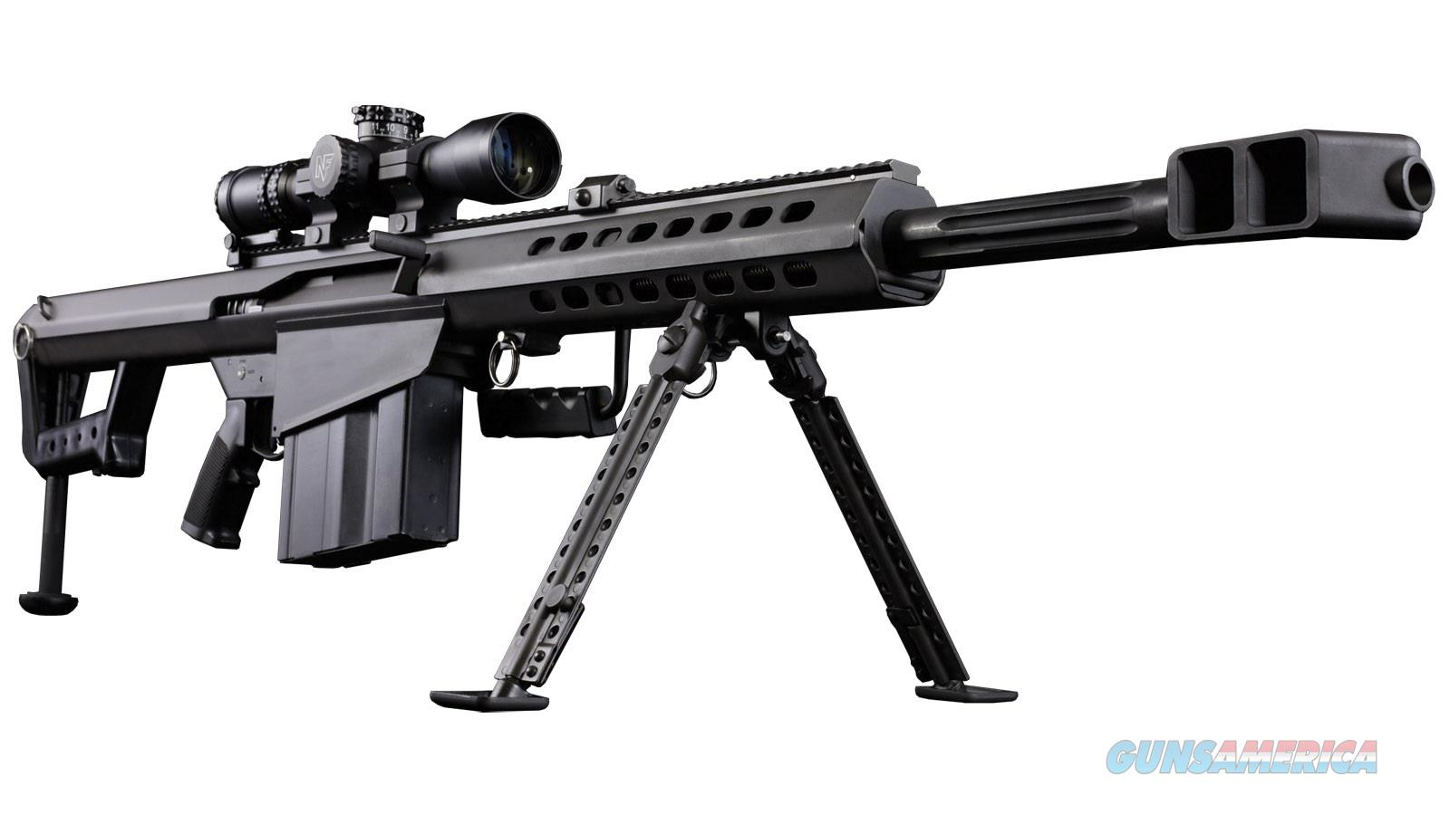 Barrett 82A1 w/NF Scope  Guns > Rifles > Barrett Rifles