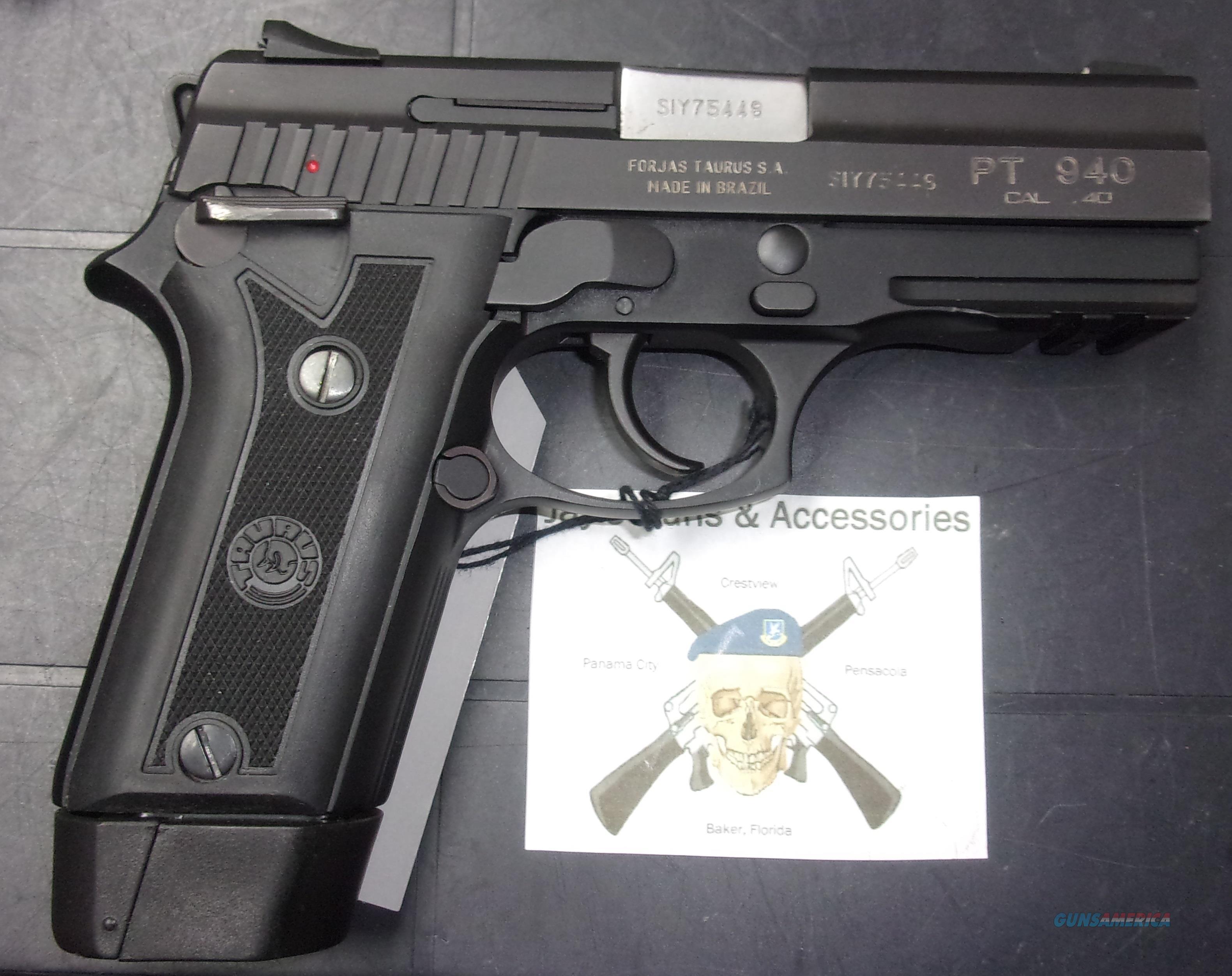 Taurus PT940  Guns > Pistols > Taurus Pistols > Semi Auto Pistols > Steel Frame