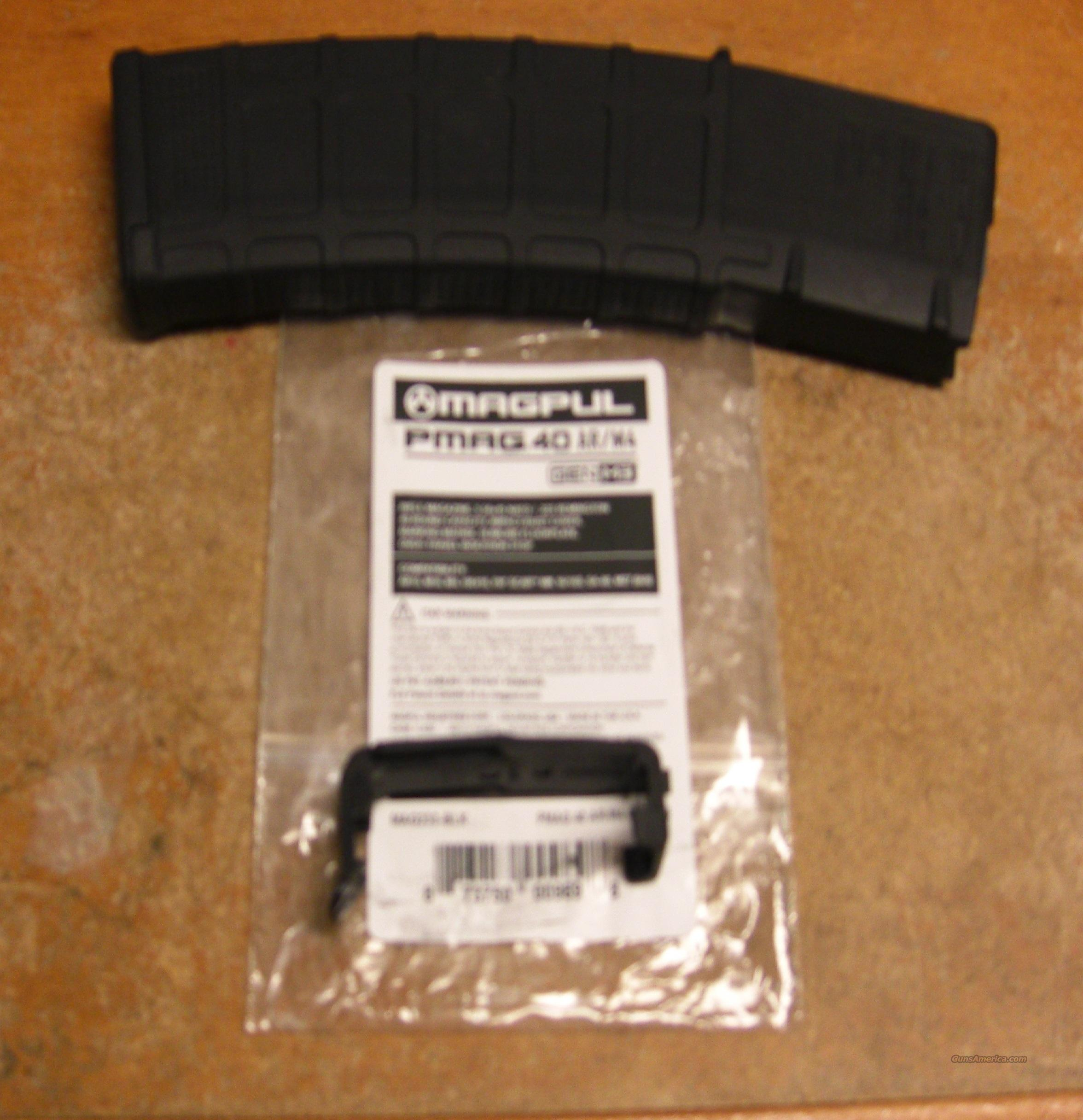 40 round PMAG for your AR-15/M4  Non-Guns > Magazines & Clips > Rifle Magazines > AR-15 Type