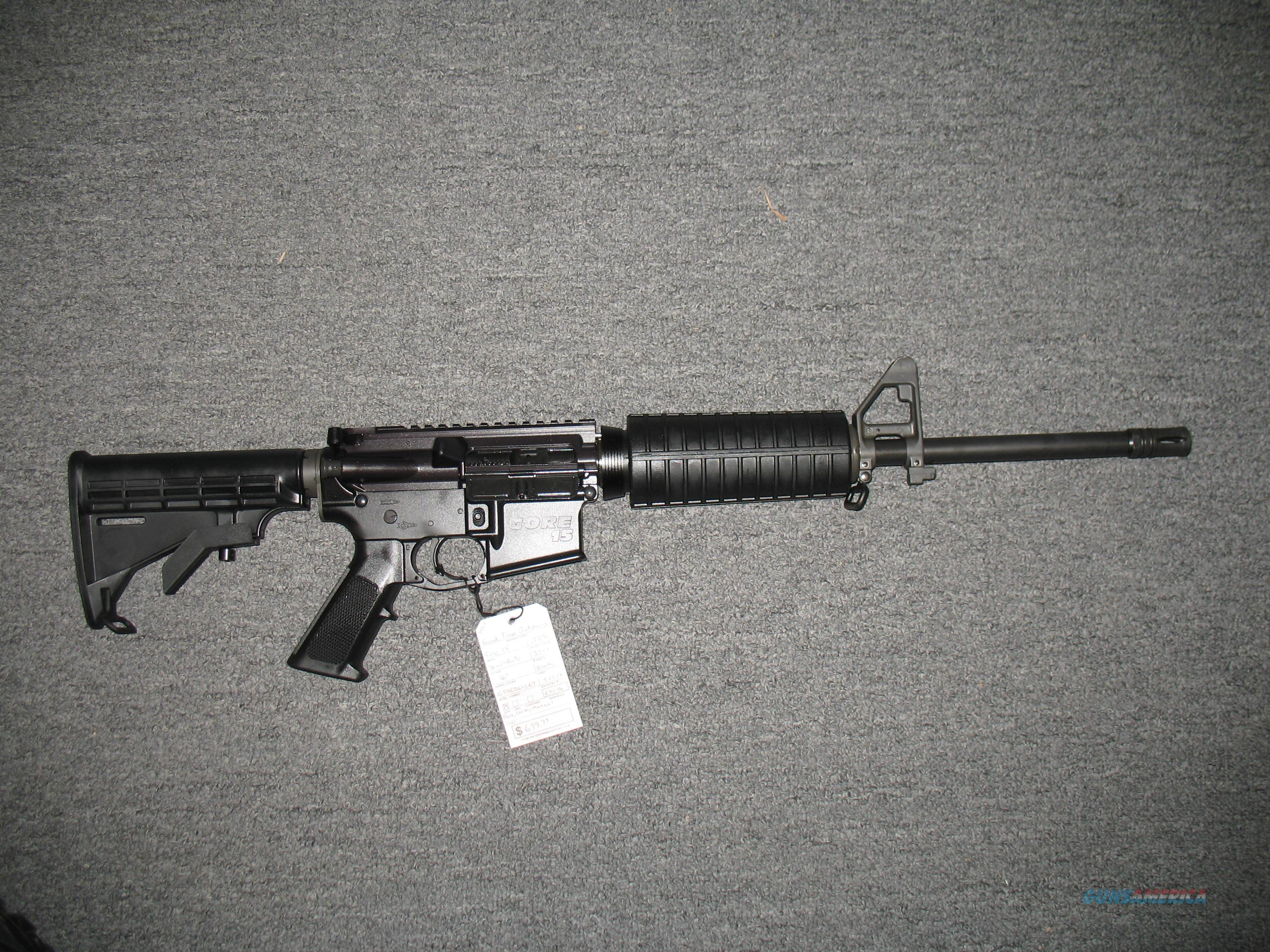 Good Time Outdoors Core 15 (Scout)  Guns > Rifles > AR-15 Rifles - Small Manufacturers > Complete Rifle