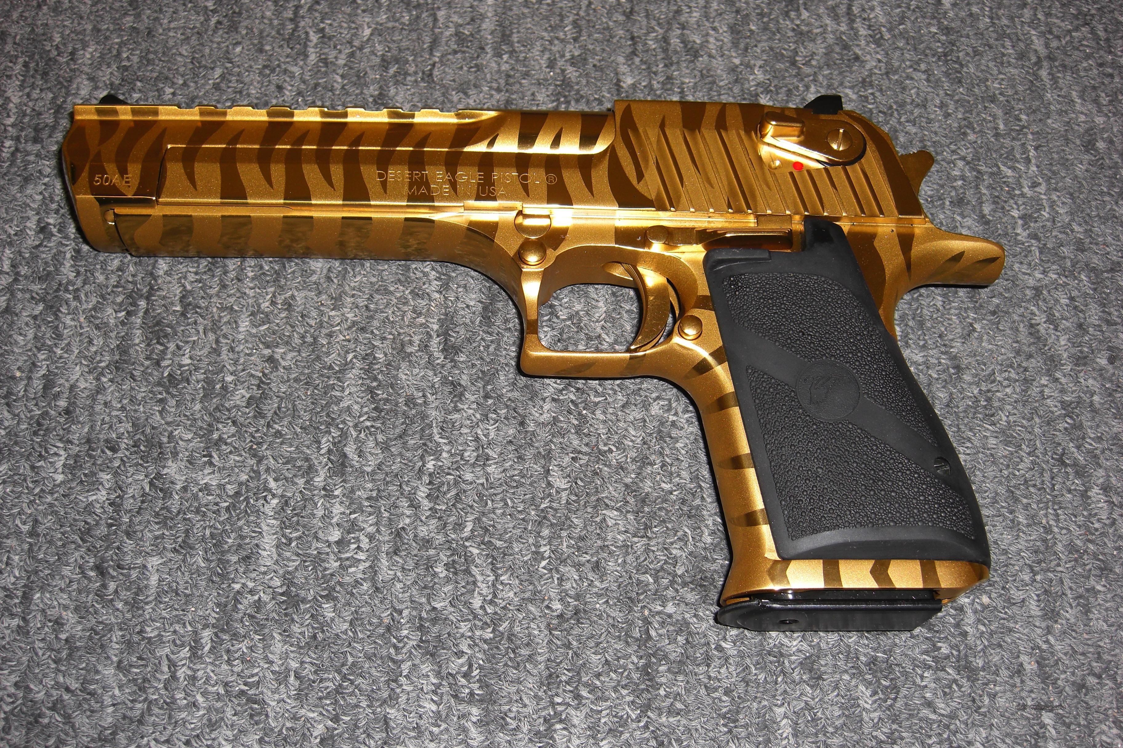 Desert Eagle,357mag, Titanium gold,Bengal tiger... for sale