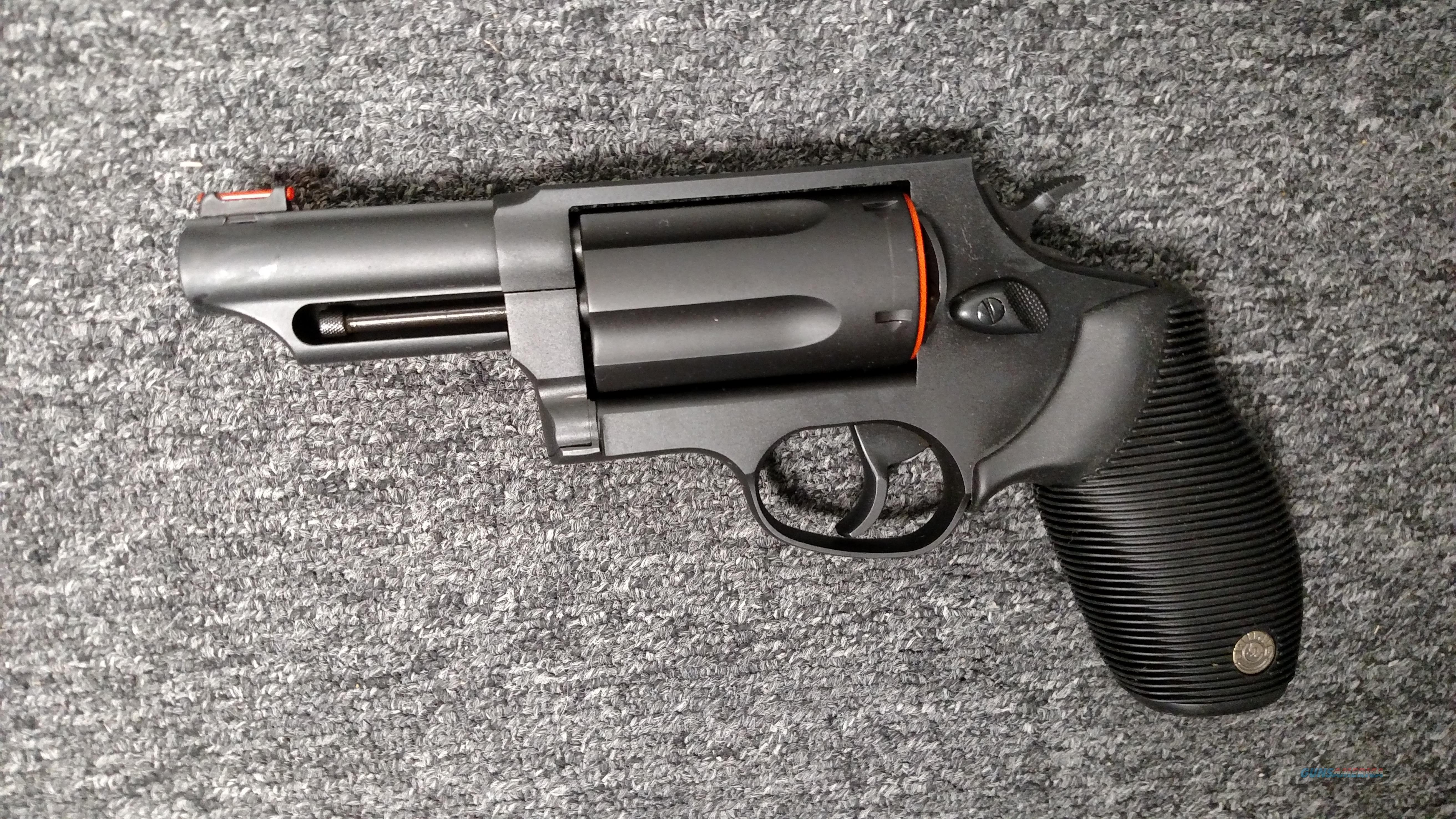 "4510 The Judge (blued, 3"" barrel, .410 gauge / .45 LC)  Guns > Pistols > Taurus Pistols > Revolvers"