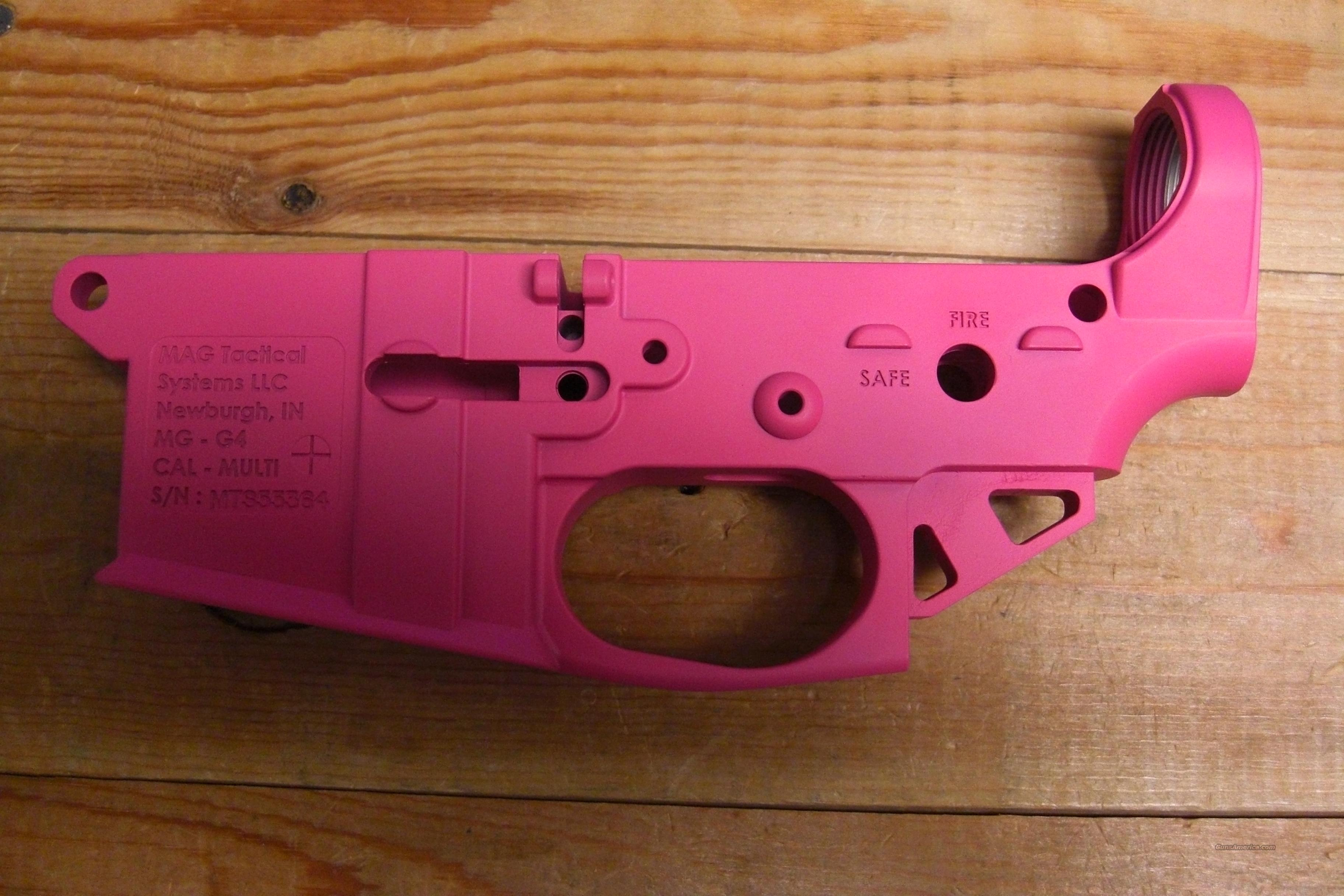 MAG Tactical  Hot Pink receiver  Guns > Rifles > AR-15 Rifles - Small Manufacturers > Lower Only
