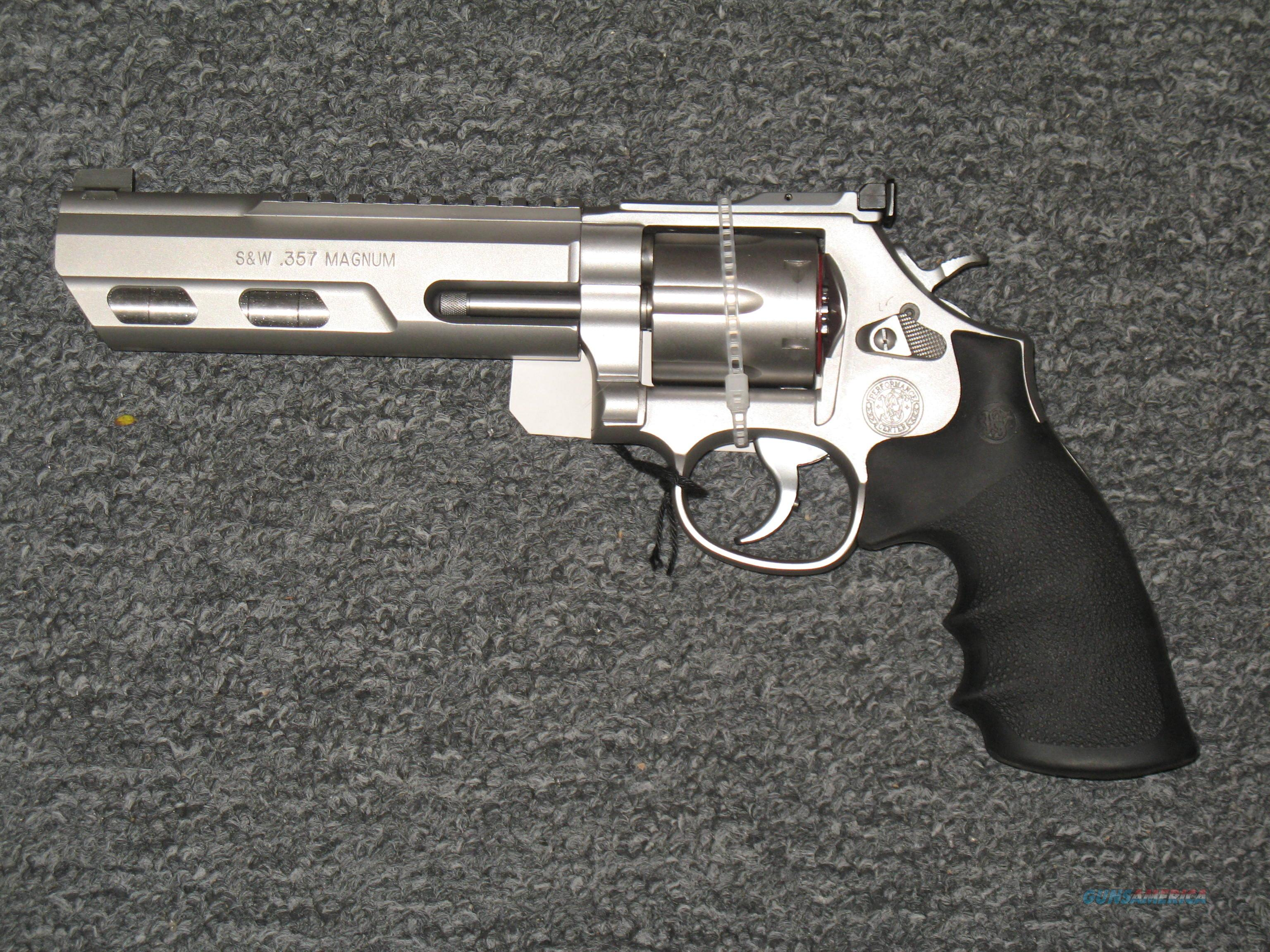 Smith & Wesson 686-6 Competitor (Performance Center) (170319)  Guns > Pistols > Smith & Wesson Revolvers > Full Frame Revolver