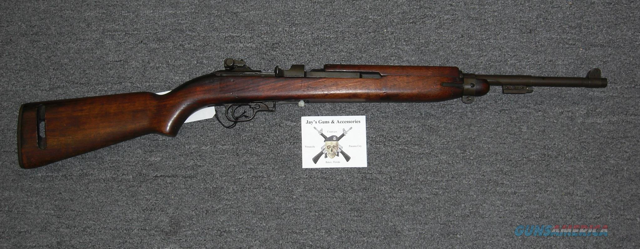 Underwood M1 Carbine Mfr 1943  Guns > Rifles > Military Misc. Rifles US > M1 Carbine