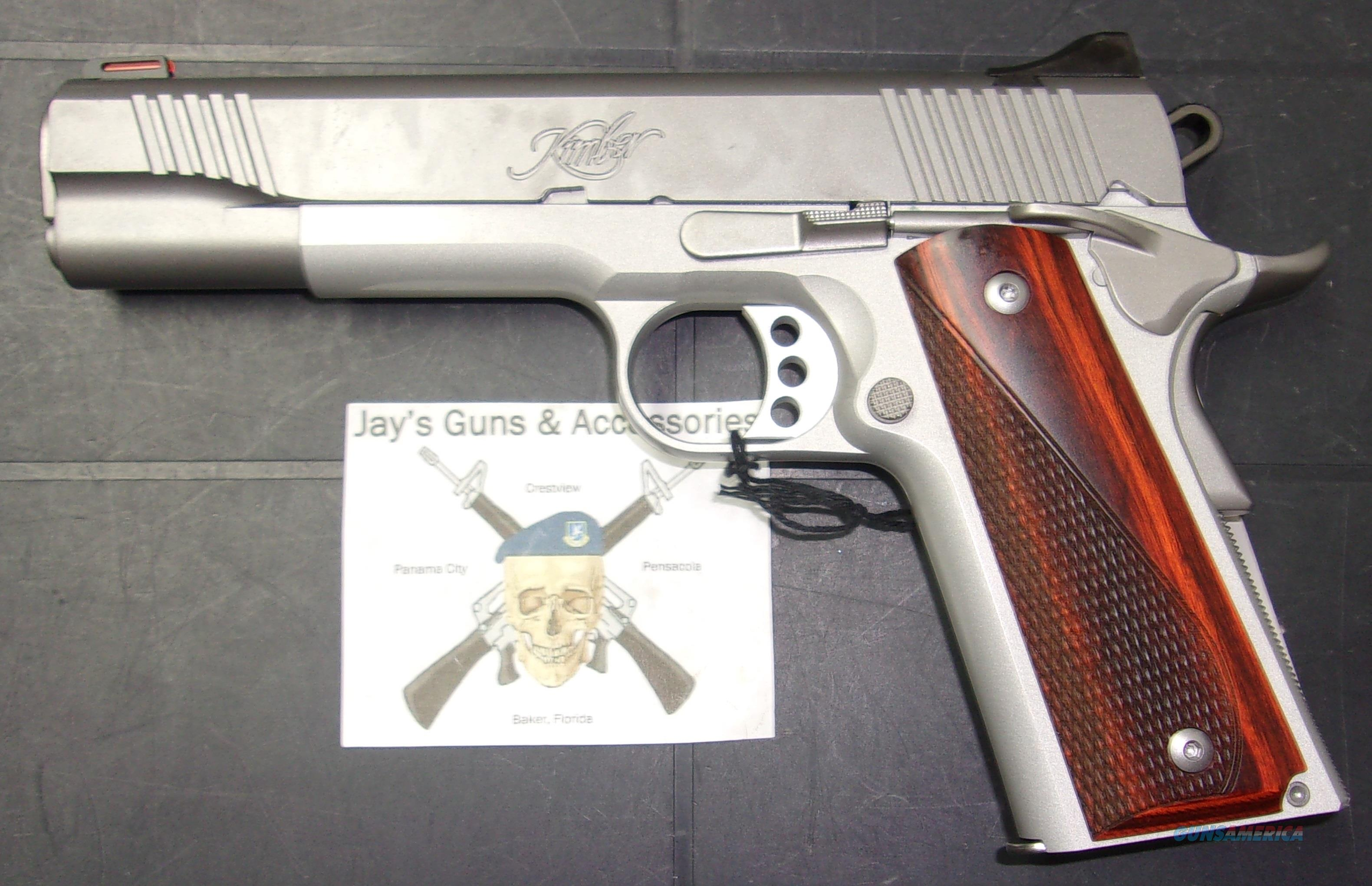Kimber Stainless LW (3700591)  Guns > Pistols > Kimber of America Pistols > 1911