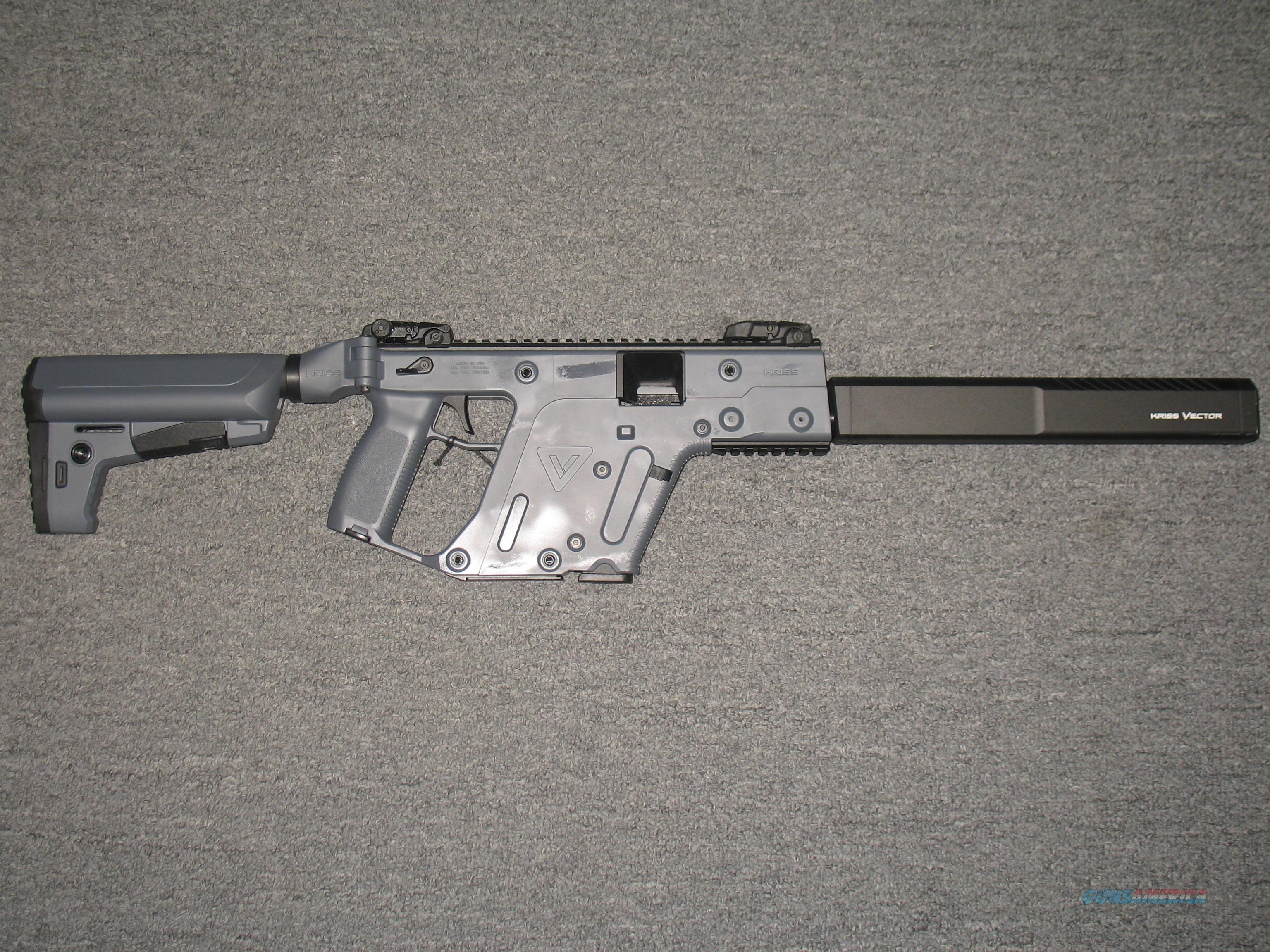 Kriss Vector CRB 9mm (Rifle) Combat Grey Gen 2  Guns > Rifles > Kriss Tactical Rifles