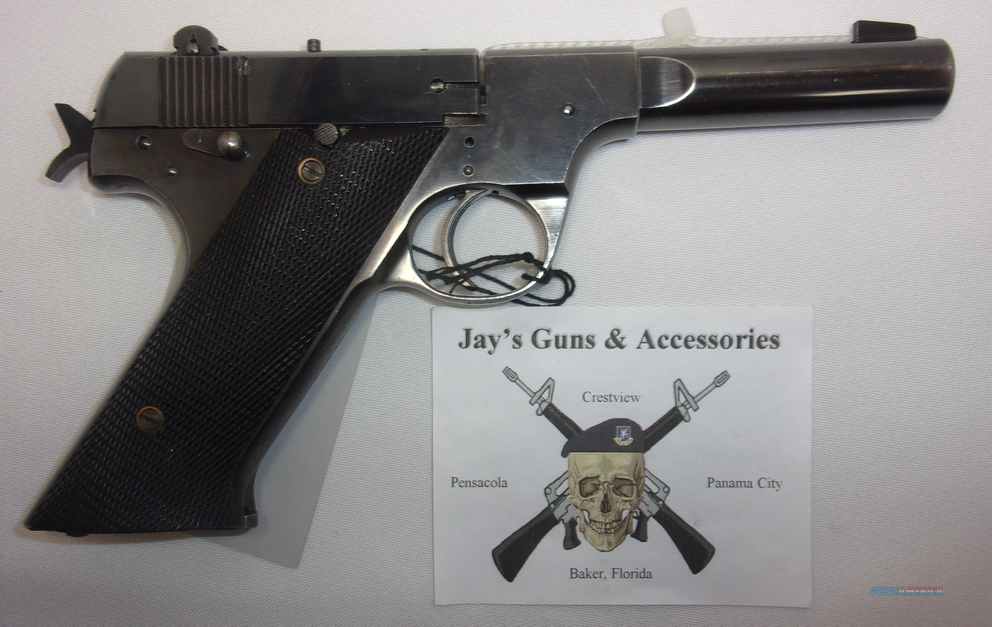 High Standard H-D Military  Guns > Pistols > High Standard Pistols