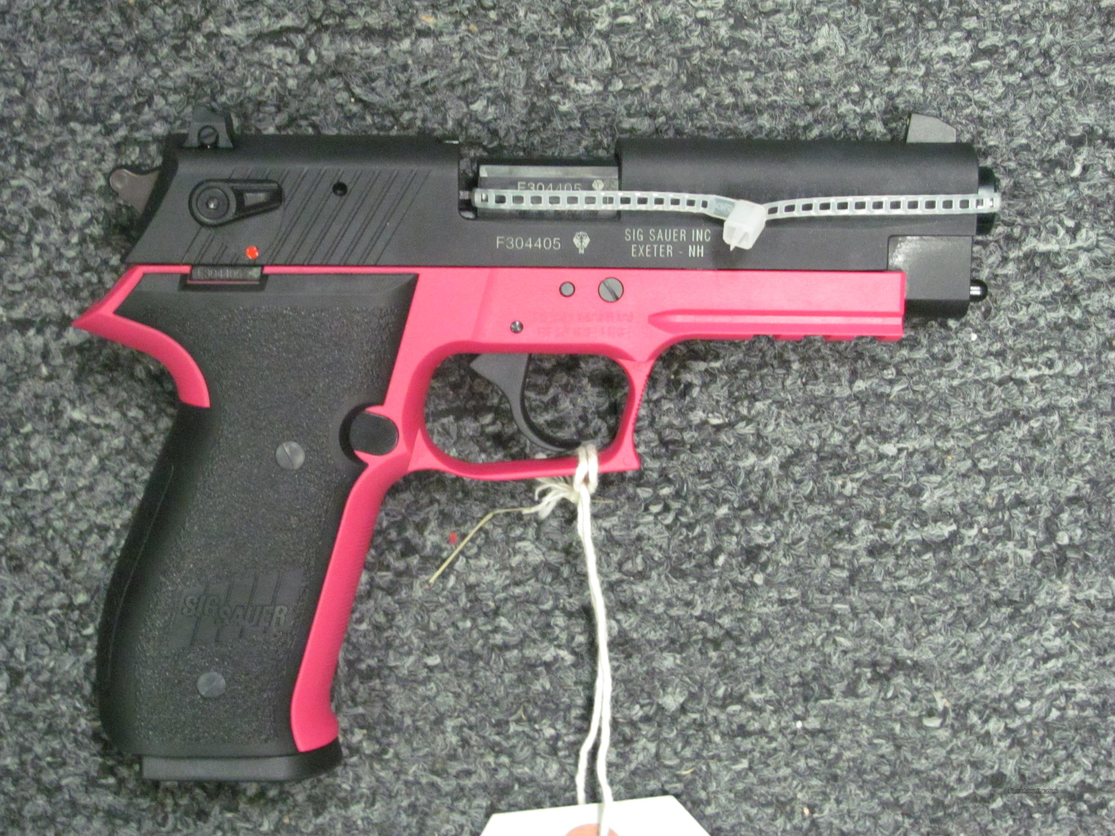 Mosquito w/Pink Finish  Guns > Pistols > Sig - Sauer/Sigarms Pistols > Mosquito