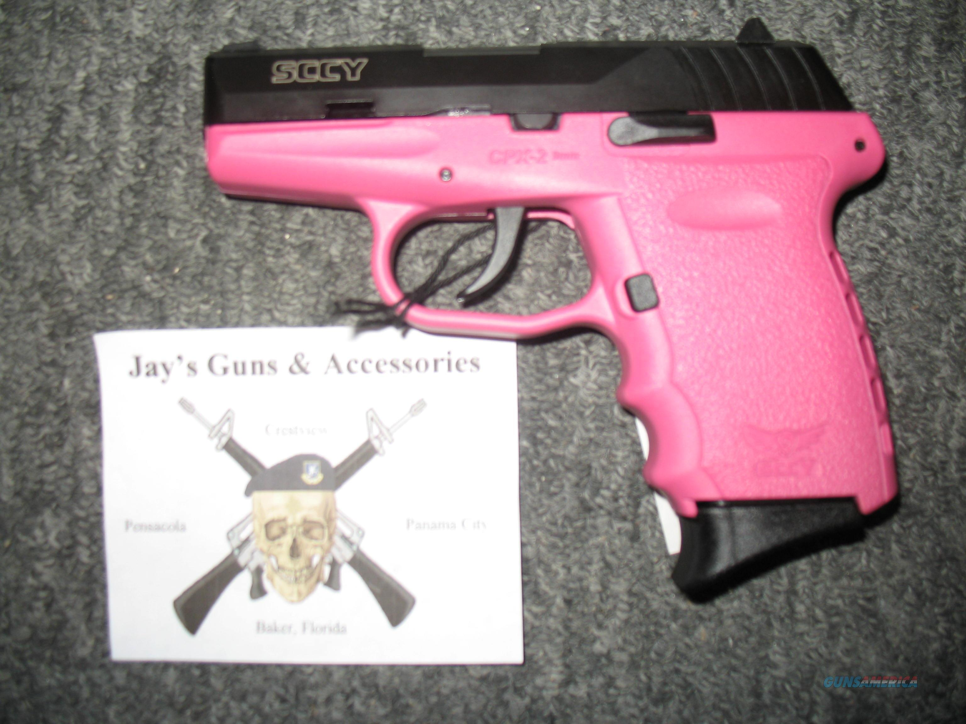 SCCY CPX-2 (461545) w/Pink Frame  Guns > Pistols > SCCY Pistols > CPX2