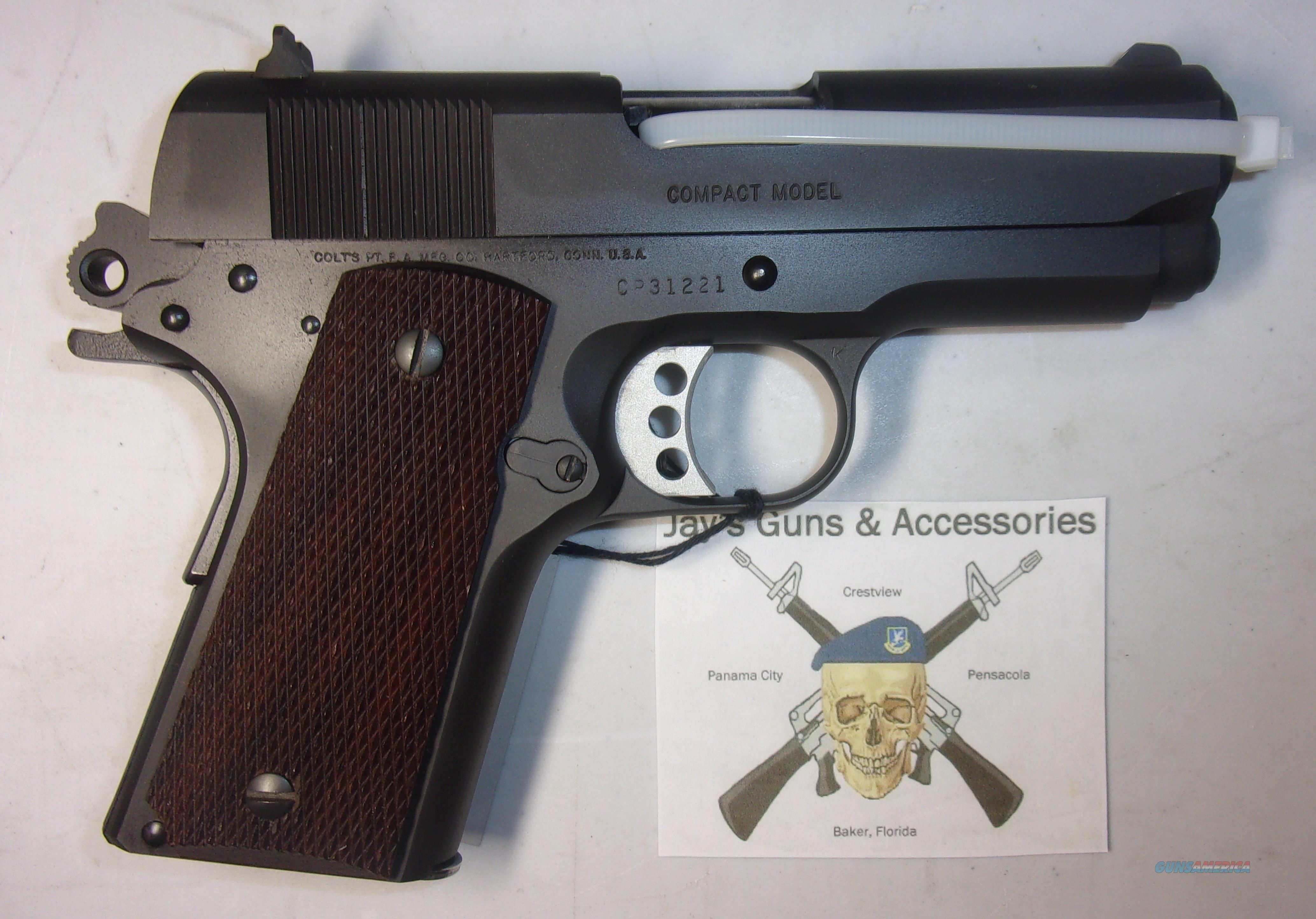 Colt M1991A1 Compact (09091)  Guns > Pistols > Colt Automatic Pistols (1911 & Var)