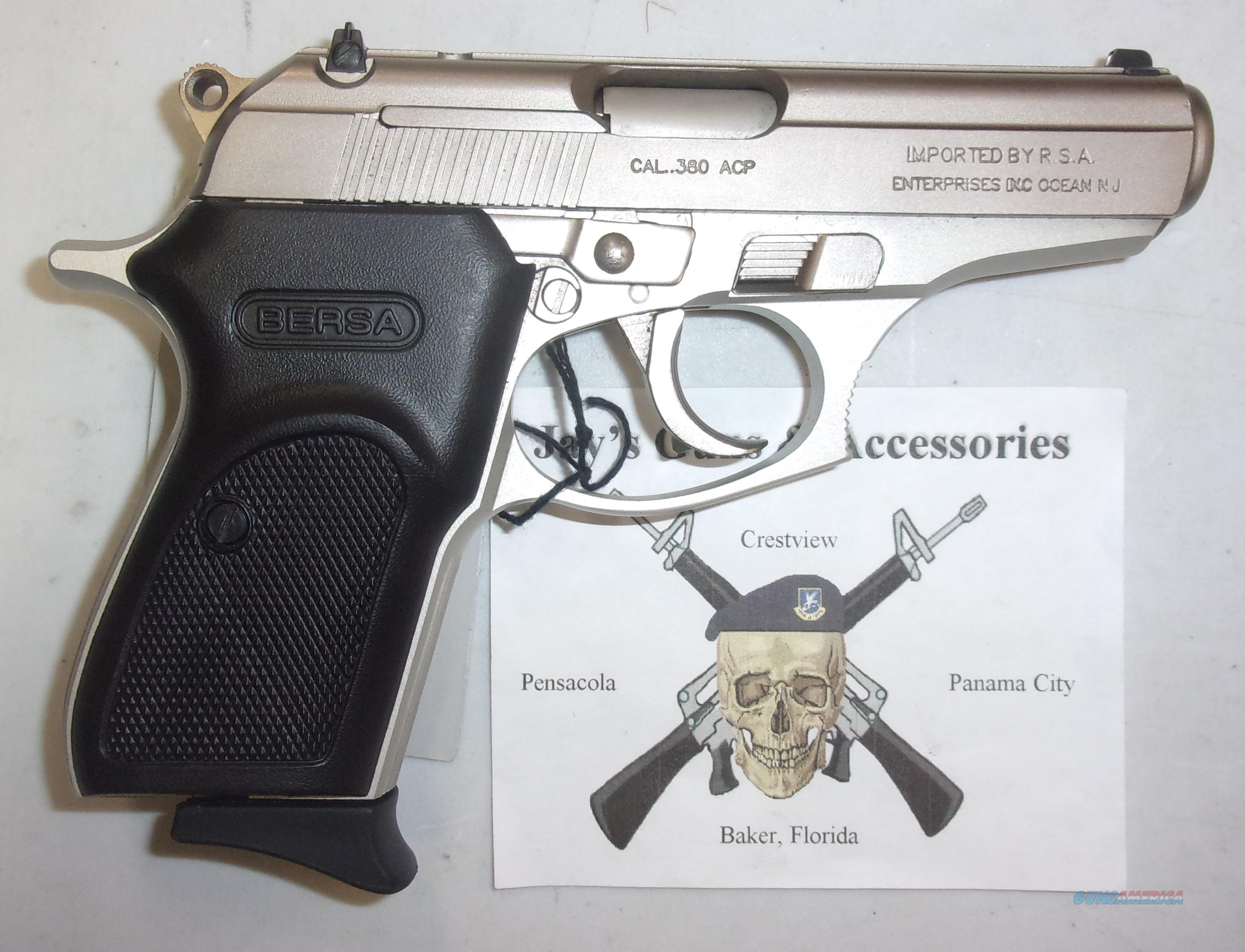 Bersa Thunder 380  Guns > Pistols > Bersa Pistols