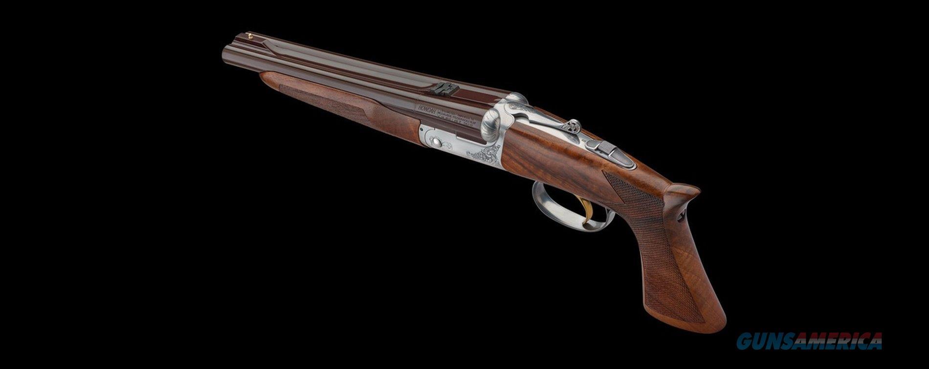 Pedersoli Howdah Deluxe (Not Normally Sold in US)  Guns > Shotguns > Ithaca Shotguns > SxS