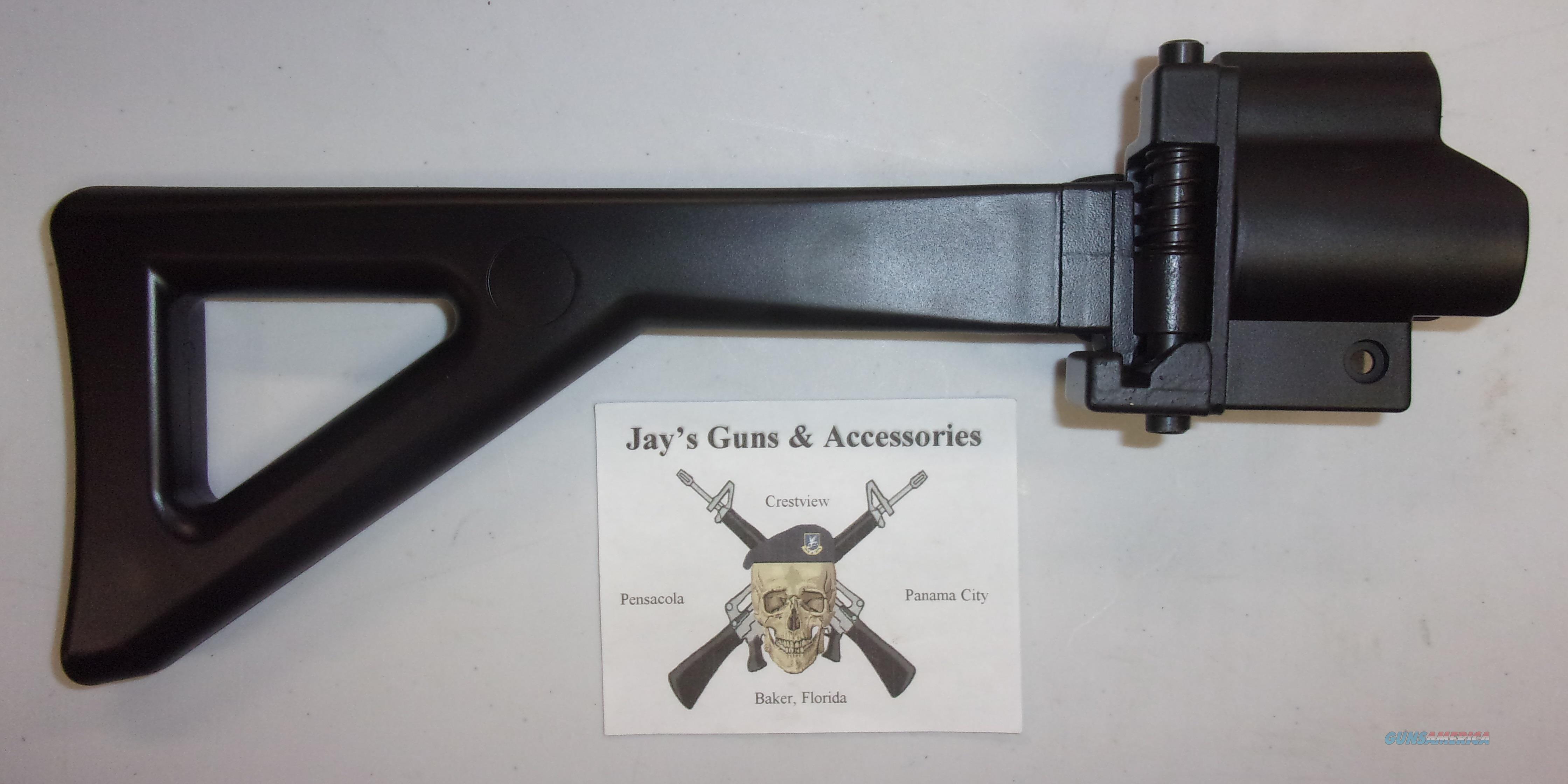 GSG 522/5 Side Folding Stock  Non-Guns > Gunstocks, Grips & Wood