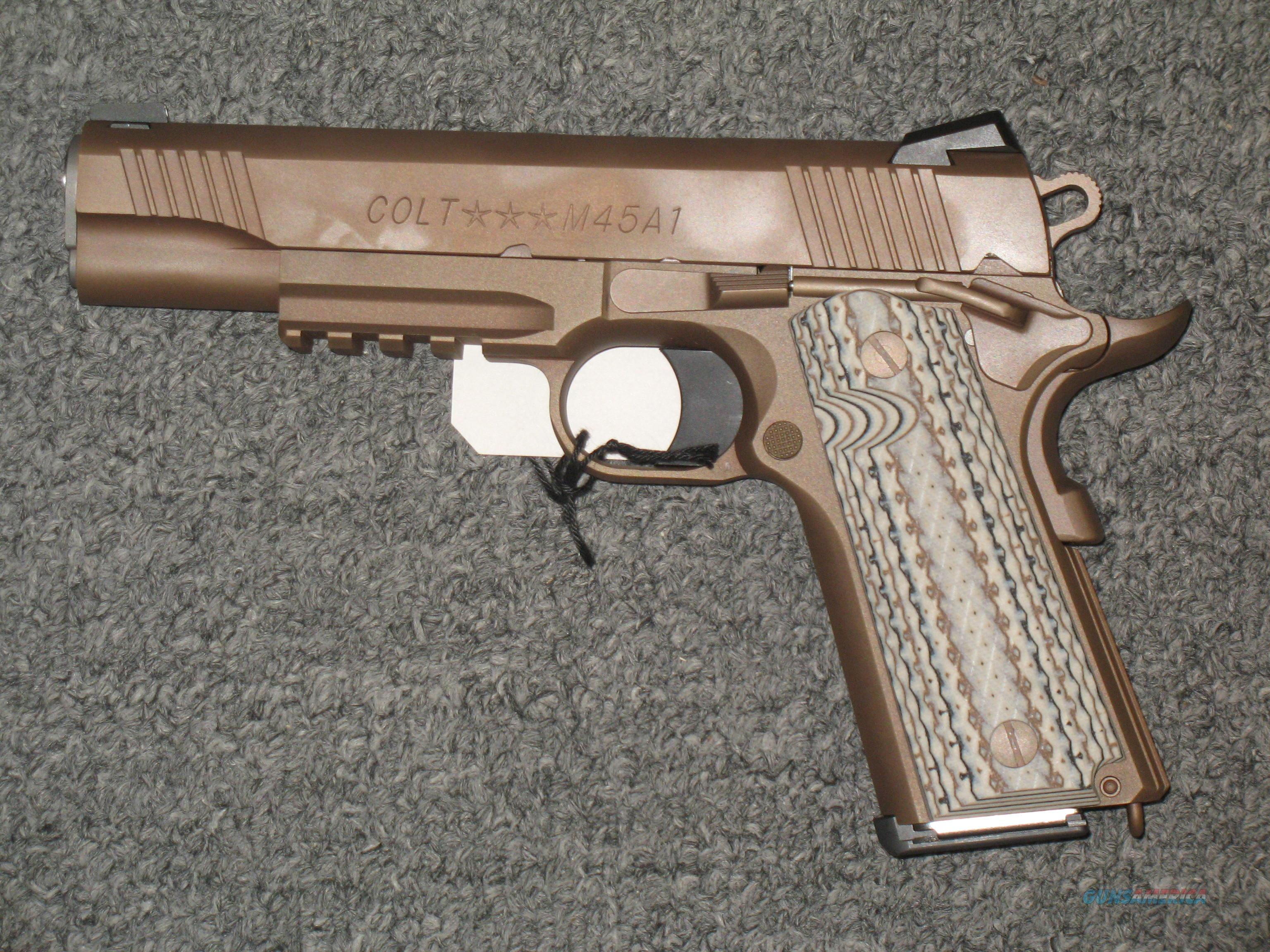 Colt M45A1 Government Model .45acp (Zinc Brown)  Guns > Pistols > Colt Automatic Pistols (1911 & Var)