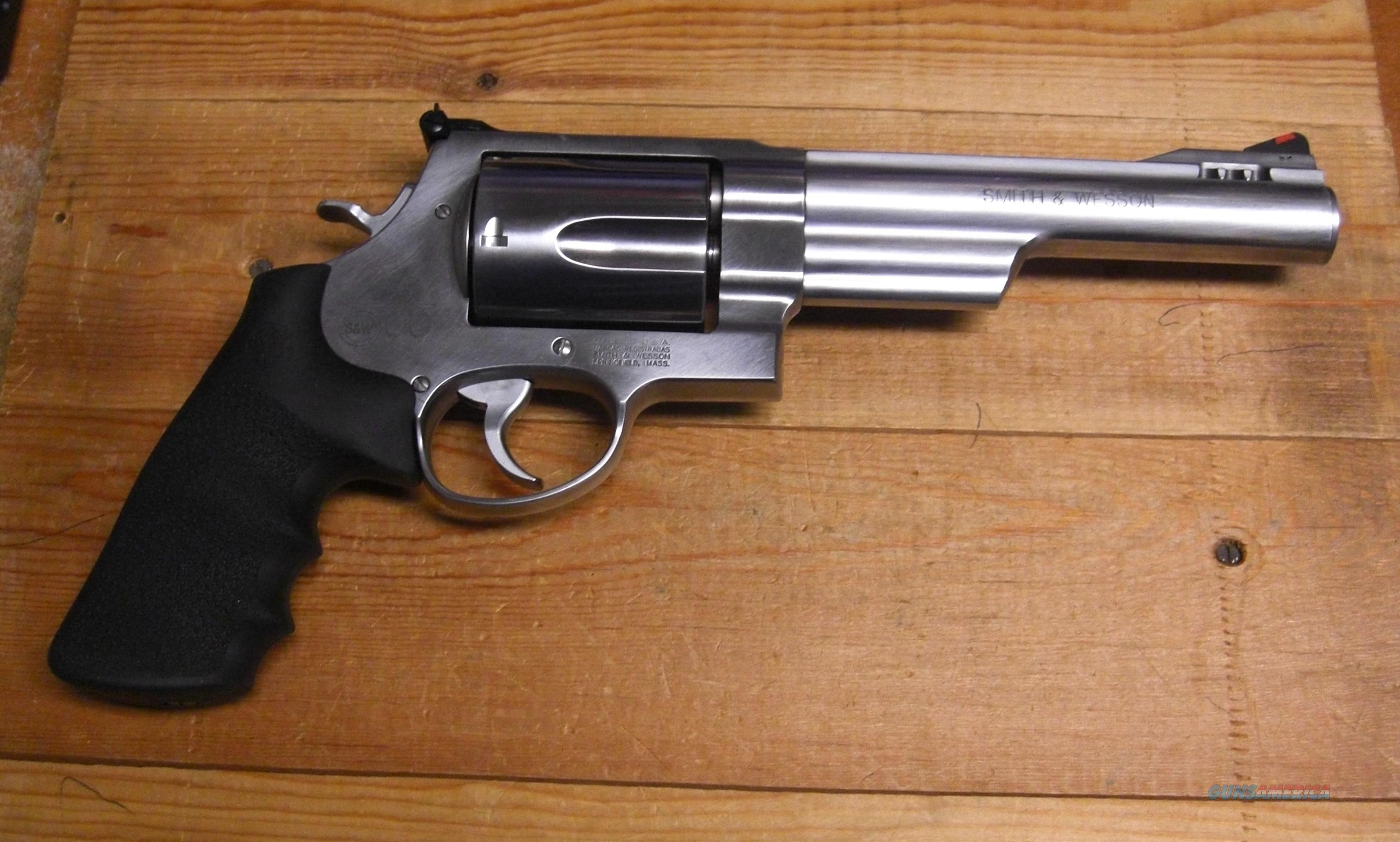 "Smith & Wesson 500 w/6.5"" ported bbl.  Guns > Pistols > Smith & Wesson Revolvers > Full Frame Revolver"