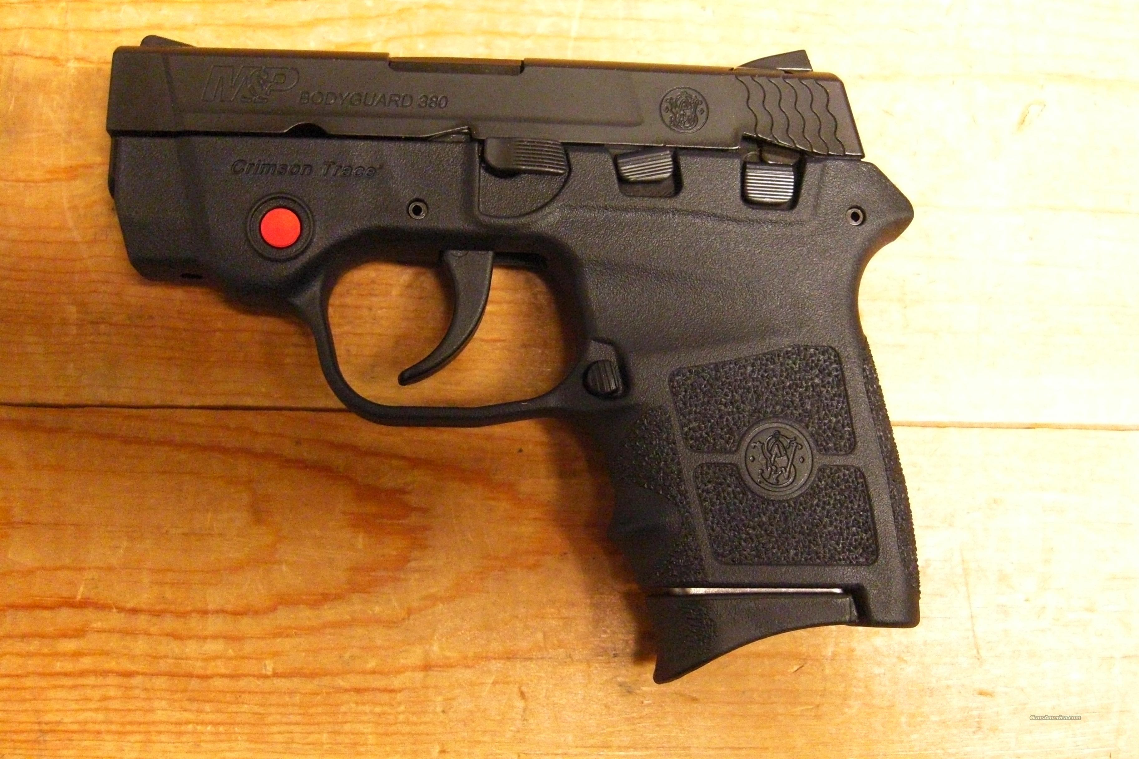 BG380 Black with Crimson Trace red dot laser  Guns > Pistols > Smith & Wesson Pistols - Autos > Polymer Frame