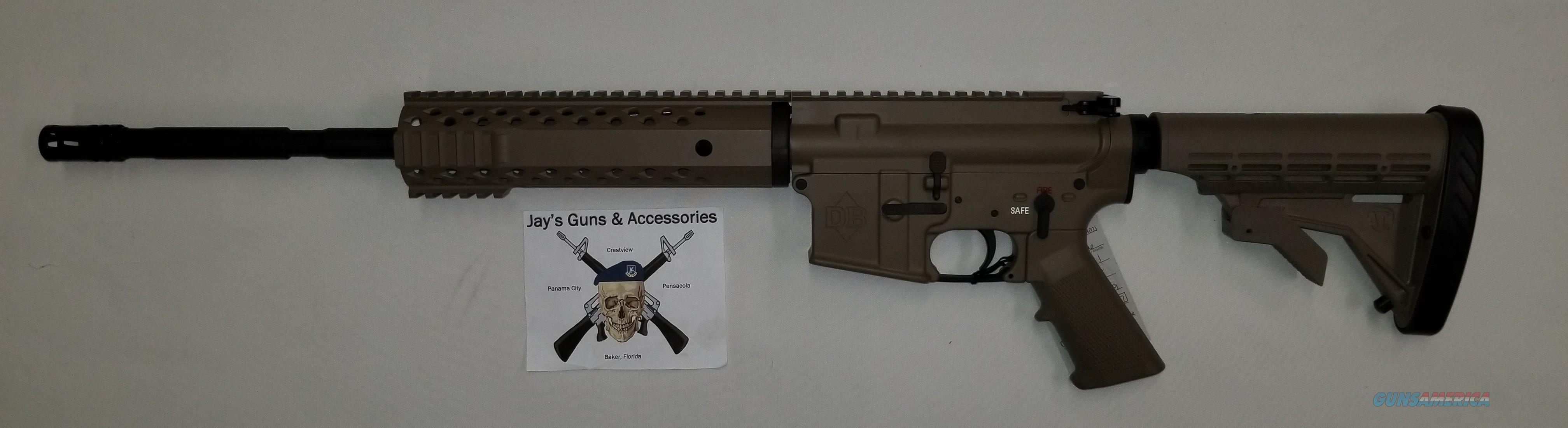 Diamondback DB-15 w/FDE Finish  Guns > Rifles > Diamondback Rifles