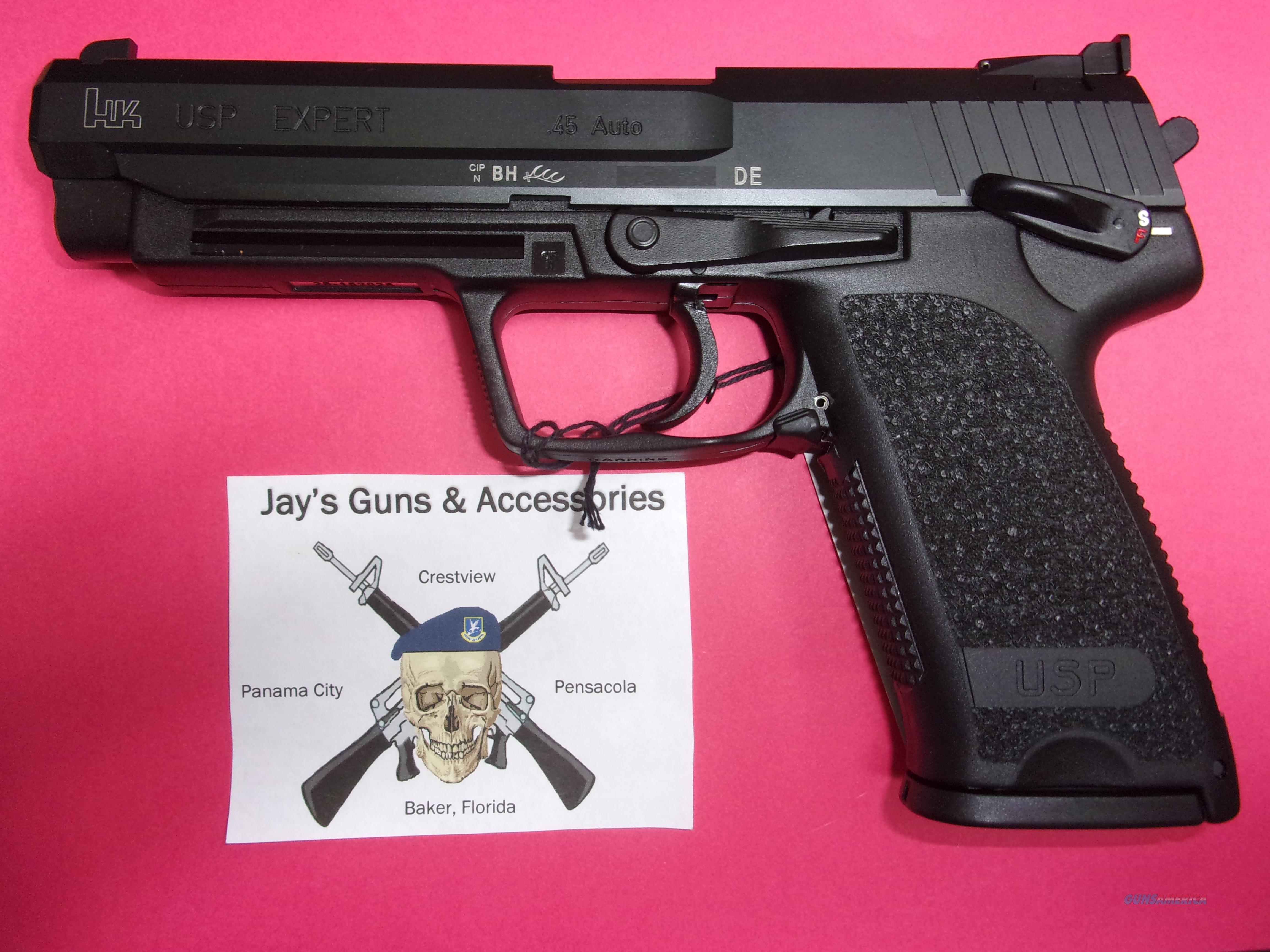 Heckler & Koch USP 45 Expert  Guns > Pistols > Heckler & Koch Pistols > Polymer Frame