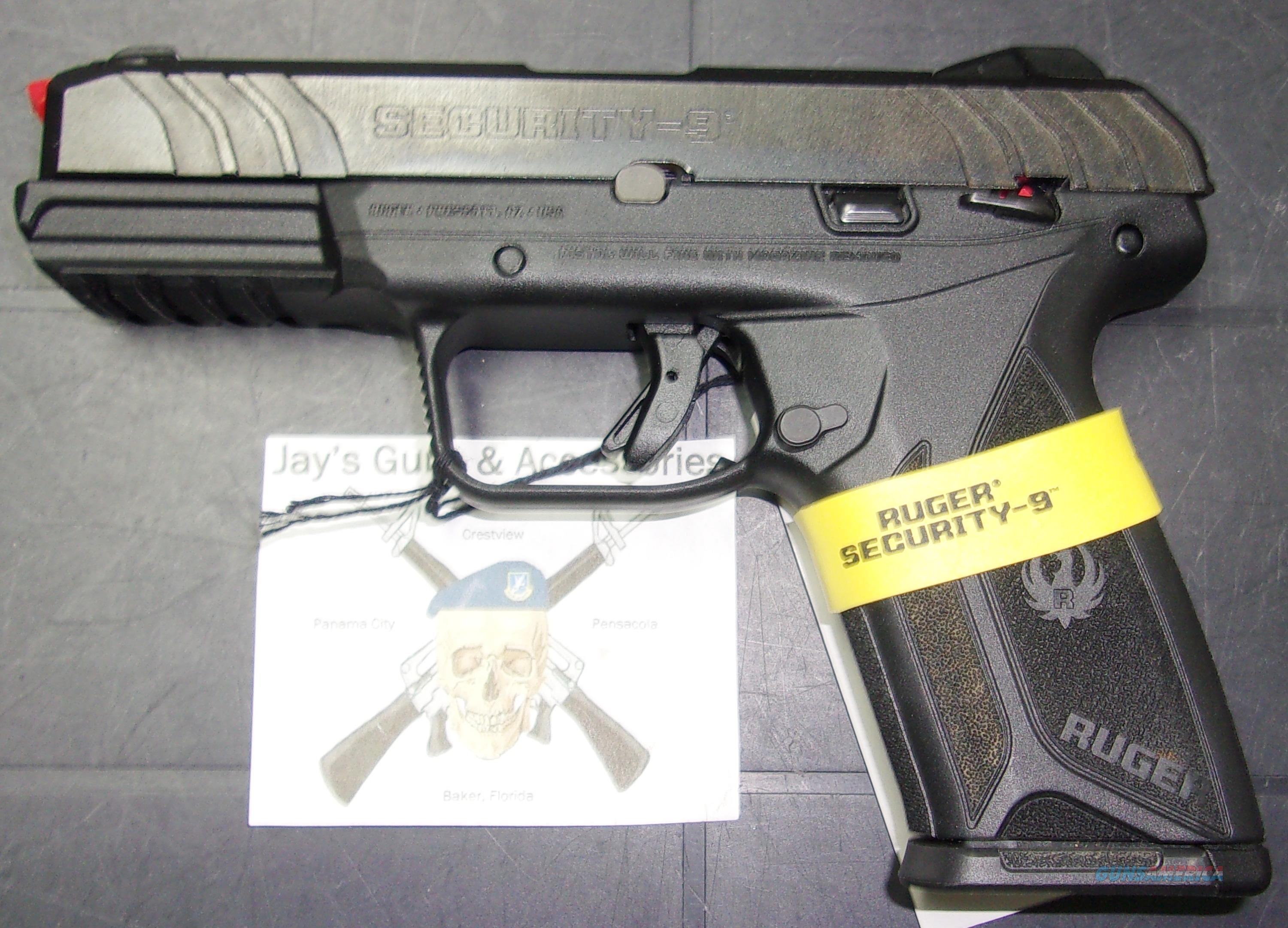 Ruger Security-9 (03810)  Guns > Pistols > Ruger Semi-Auto Pistols > Security 9