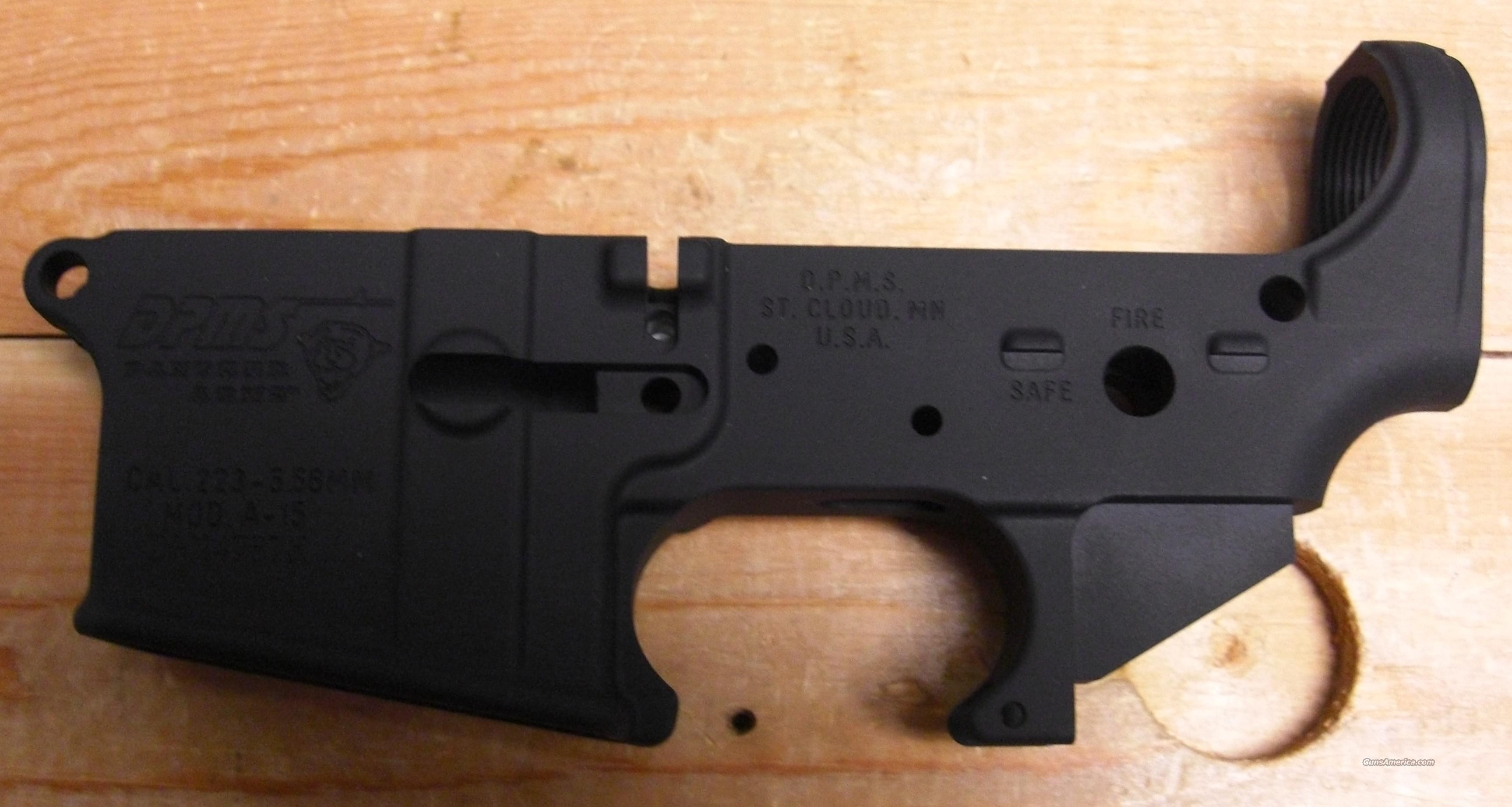 DPMS stripped receiver  Guns > Rifles > DPMS - Panther Arms > Lower Only
