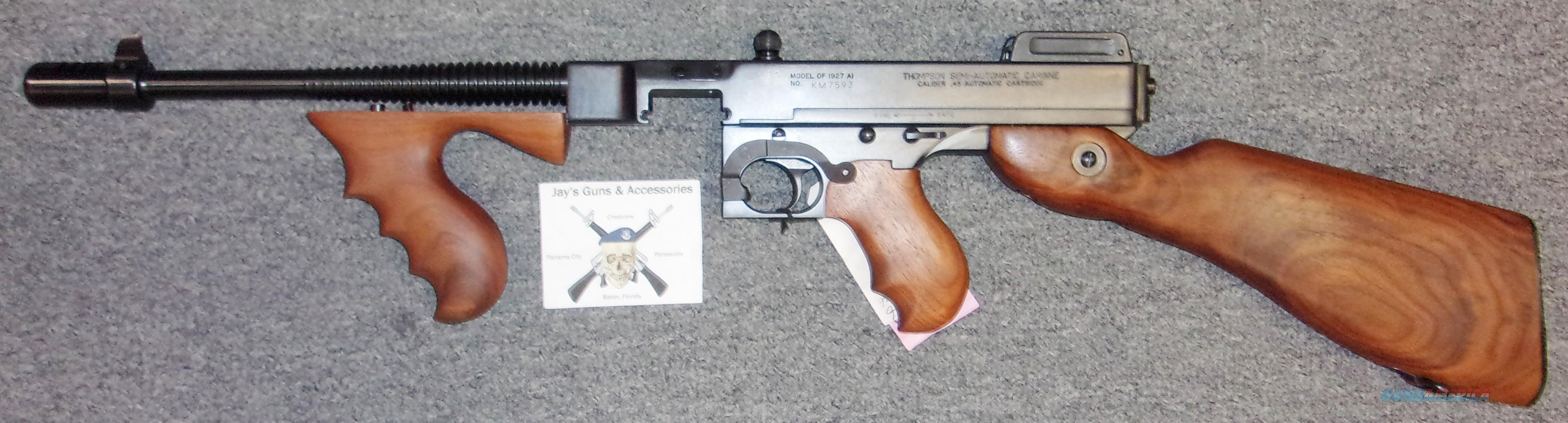 Kahr Arms/Auto Ordnance T1SB SBR  Guns > Rifles > Class 3 Rifles > Class 3 Subguns
