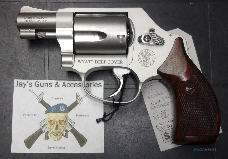 Smith & Wesson 637-2 Wyatt Deep Cover  Guns > Pistols > Smith & Wesson Revolvers > Small Frame ( J )