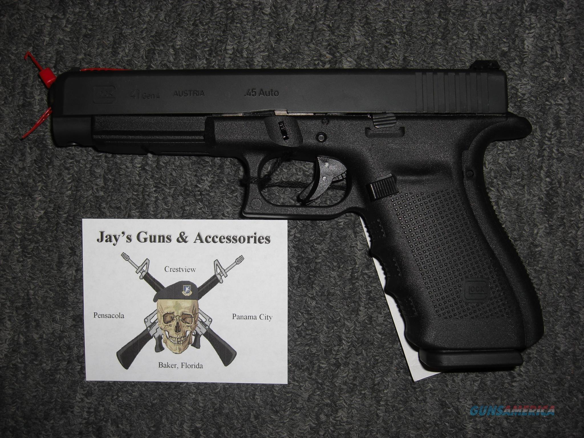 Glock 41 Gen 4  Guns > Pistols > Glock Pistols > 41