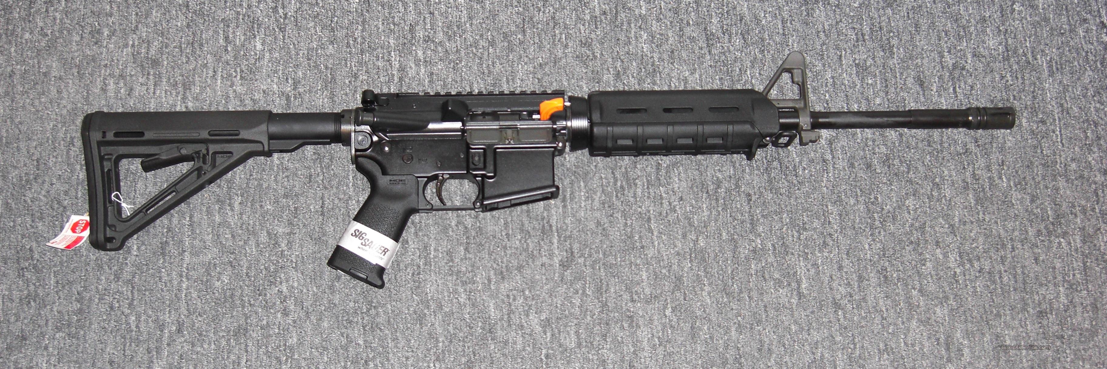 M400 w/black MOE furniture (RM400-16B-ECP)  Guns > Rifles > Sig - Sauer/Sigarms Rifles