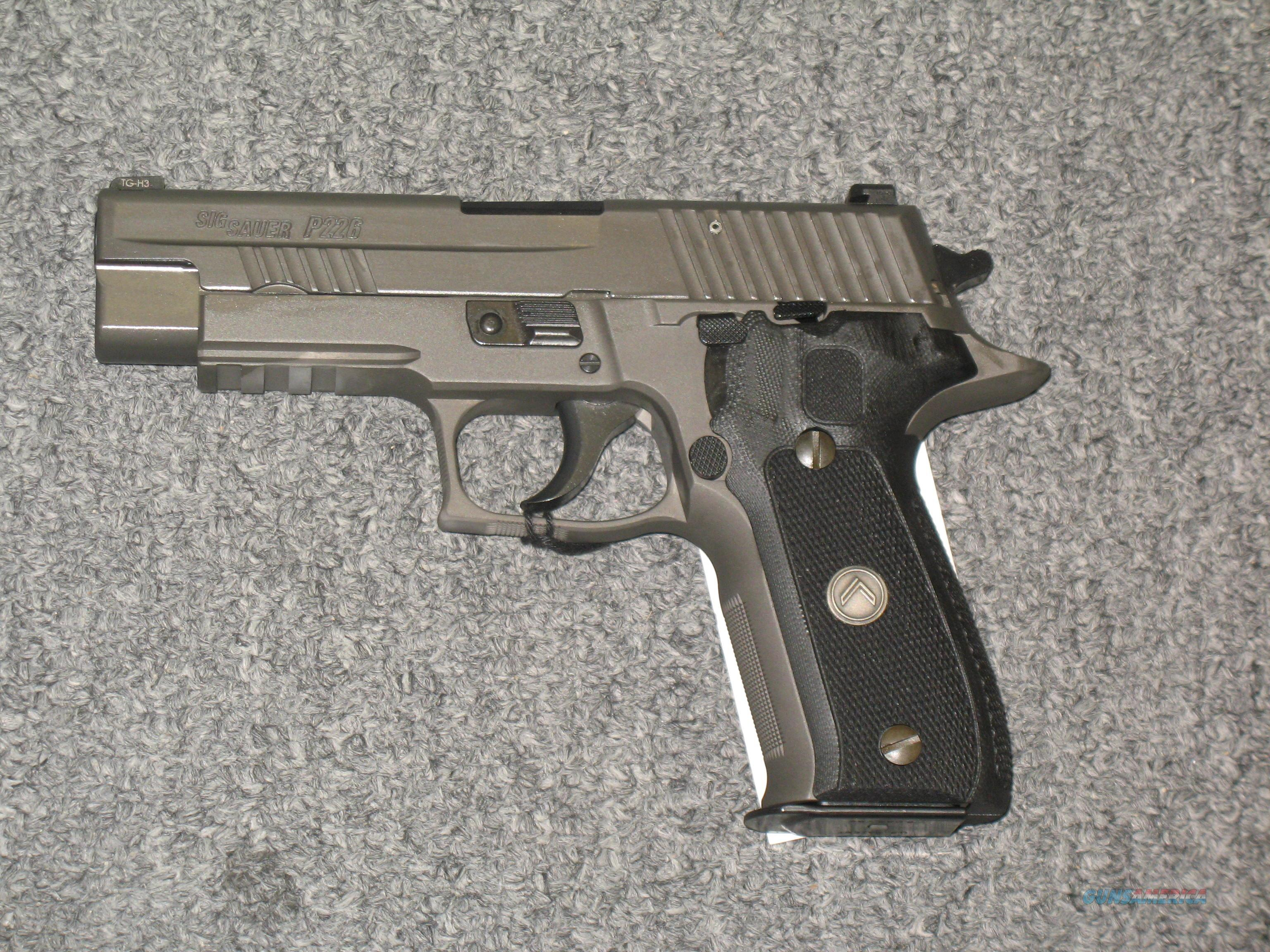 P226r LEGION  w/3  12 rd mags.  Guns > Pistols > Sig - Sauer/Sigarms Pistols > P226
