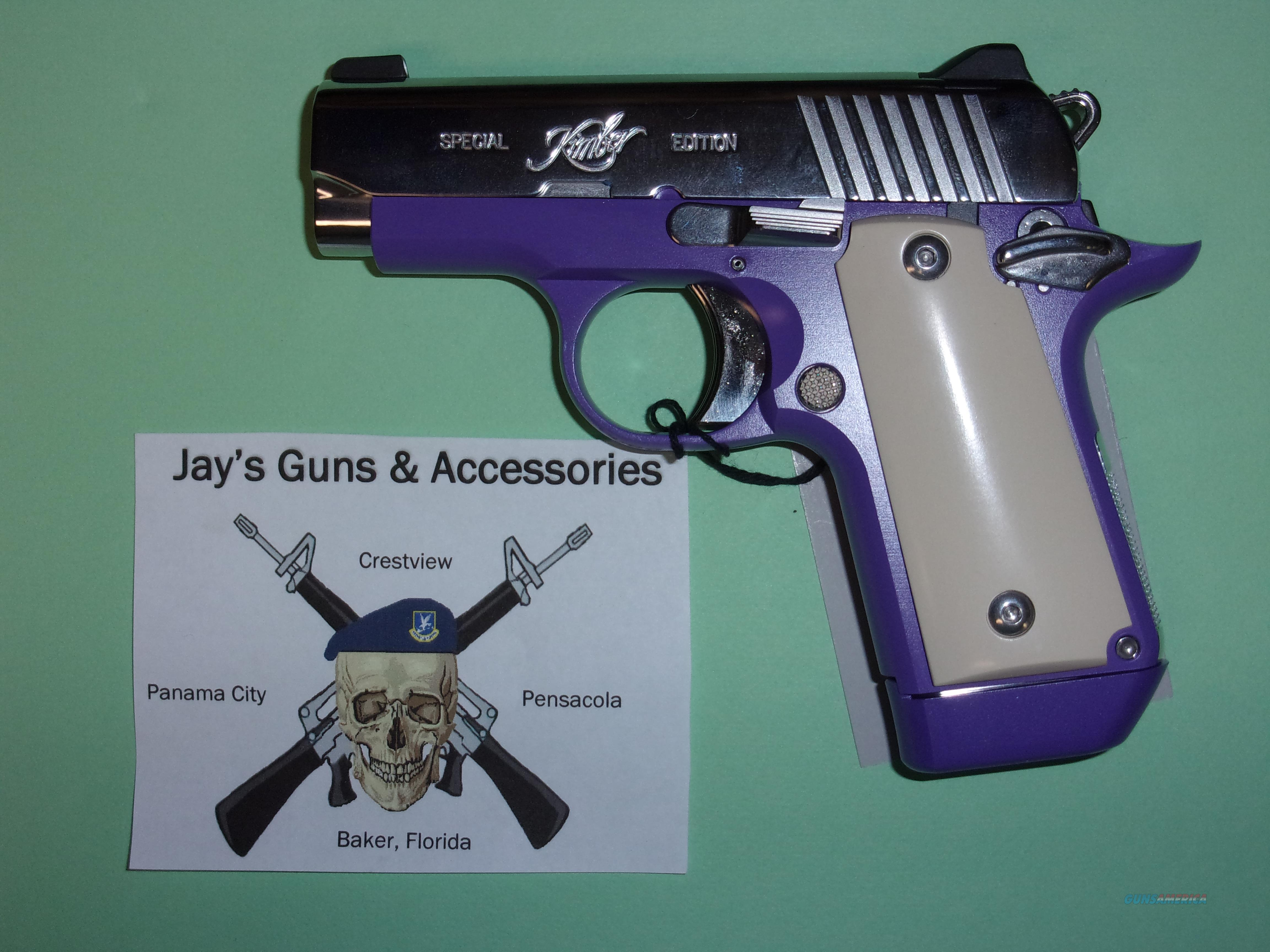 Kimber Micro 380 Violet Special Edition  Guns > Pistols > Kimber of America Pistols > Micro