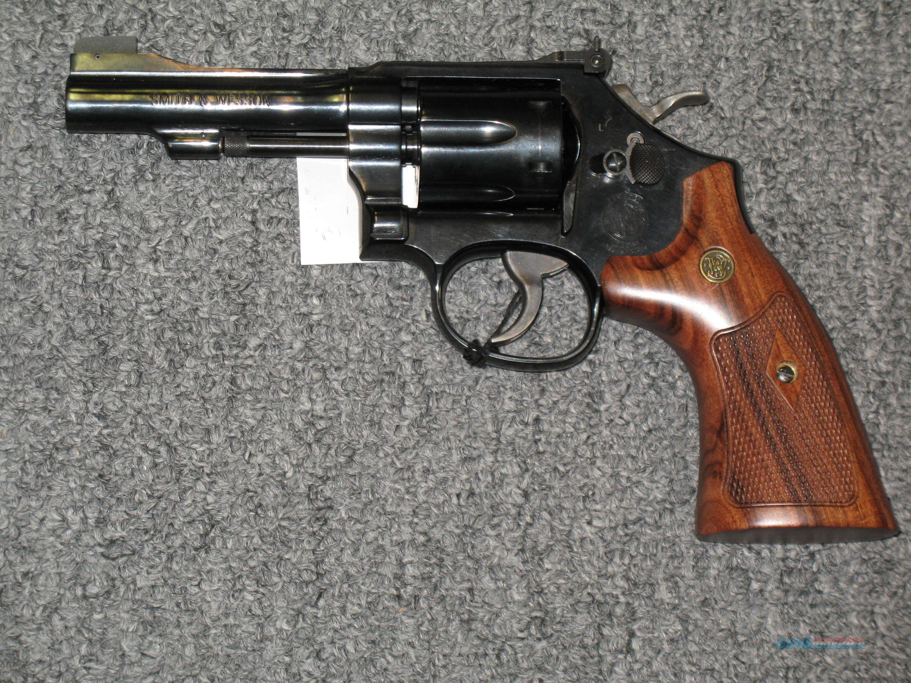 Smith & Wesson 48-7 w/adjustable rear sights  Guns > Pistols > Smith & Wesson Revolvers > Full Frame Revolver