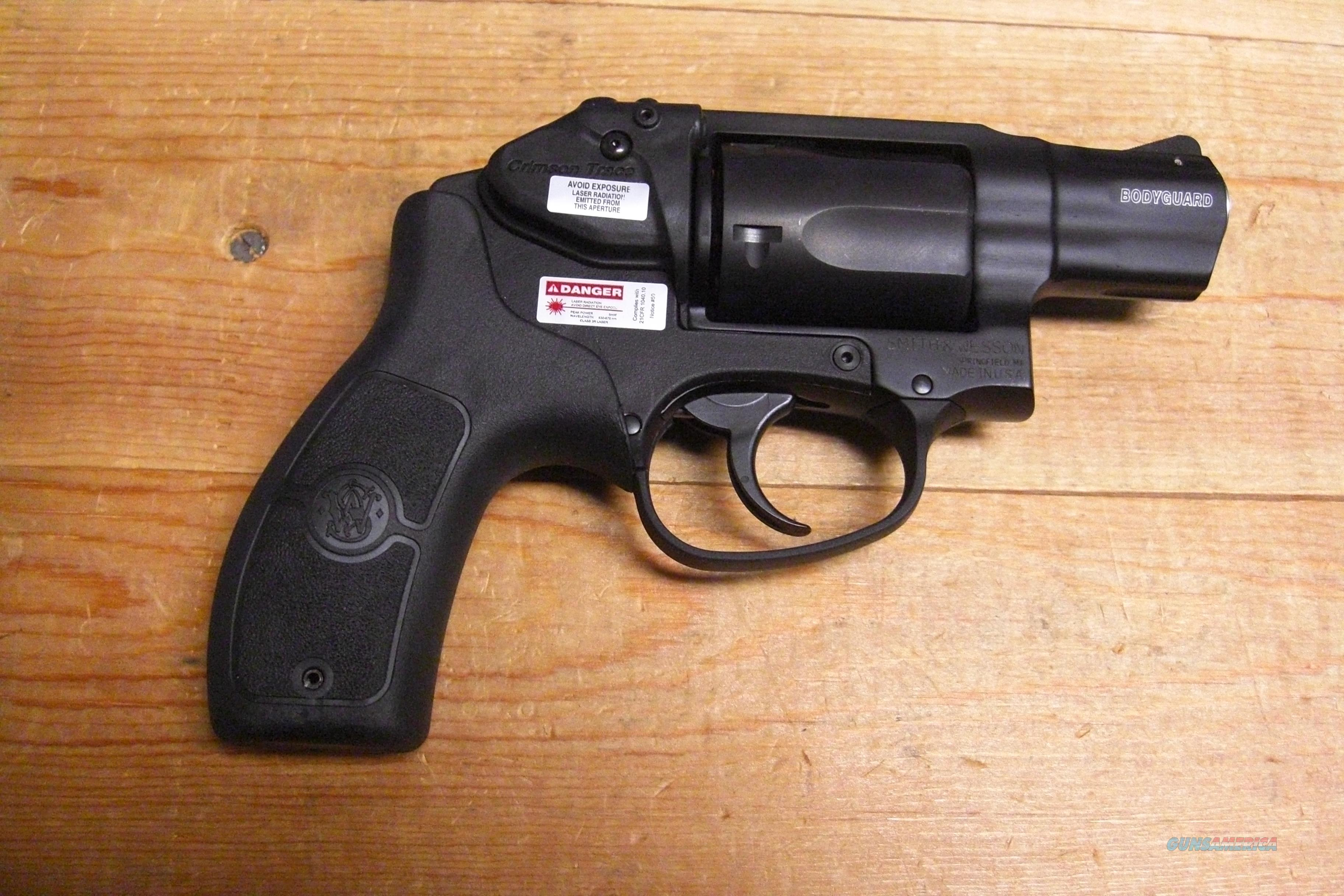 M&P Bodyguard 38 with Crimson Trace red Laser  Guns > Pistols > Smith & Wesson Revolvers > Pocket Pistols