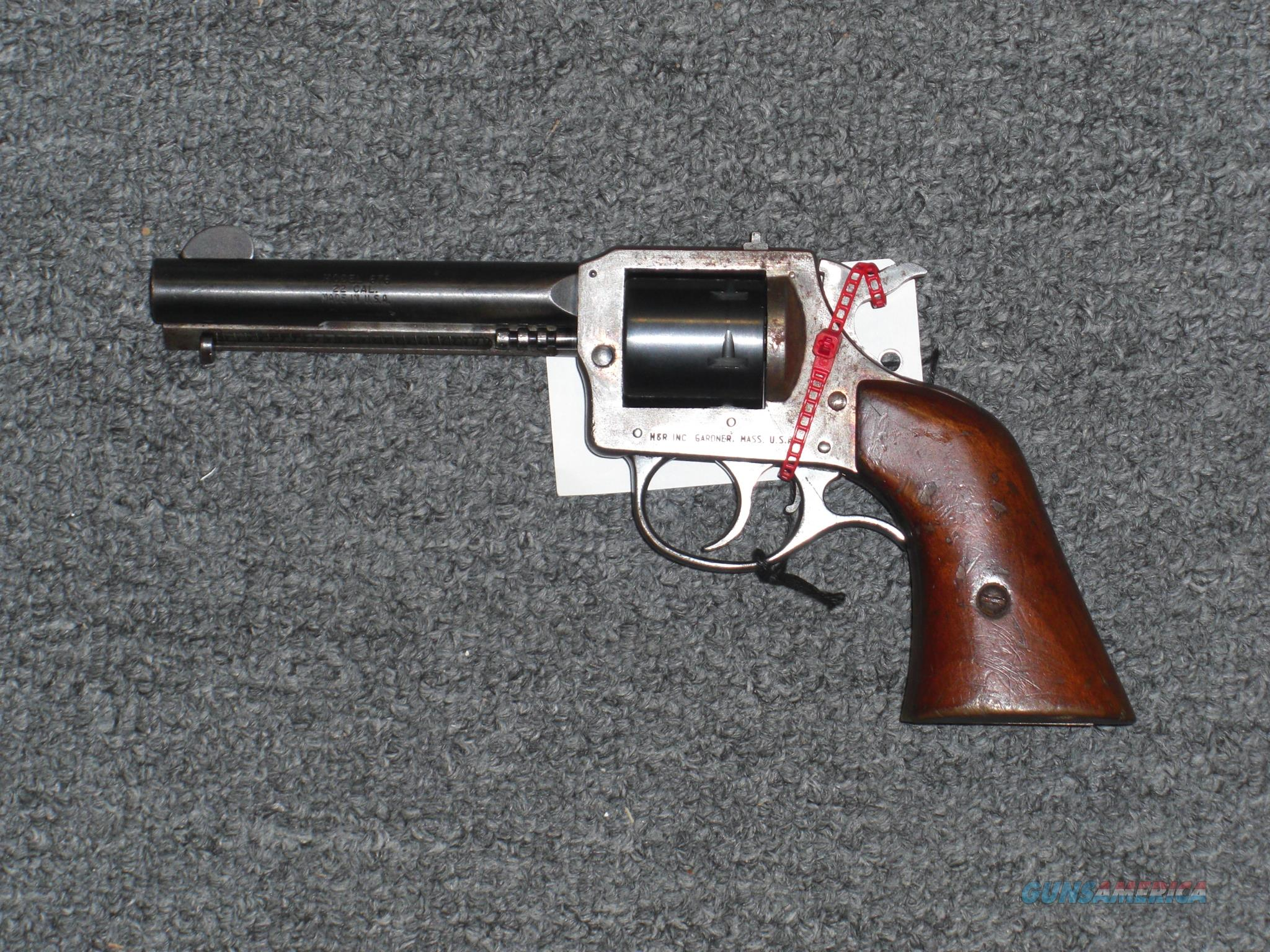 Harrington and Richardson 676 .22lr/.22 magnum  Guns > Pistols > Harrington & Richardson Pistols