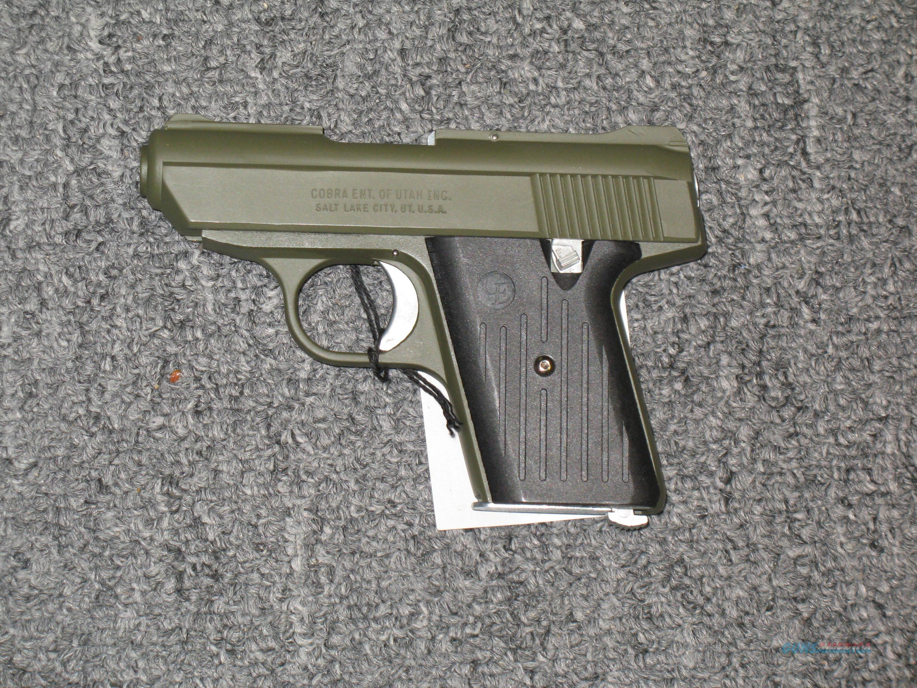 CA 32 w/OD Green finish  Guns > Pistols > Cobra Derringers