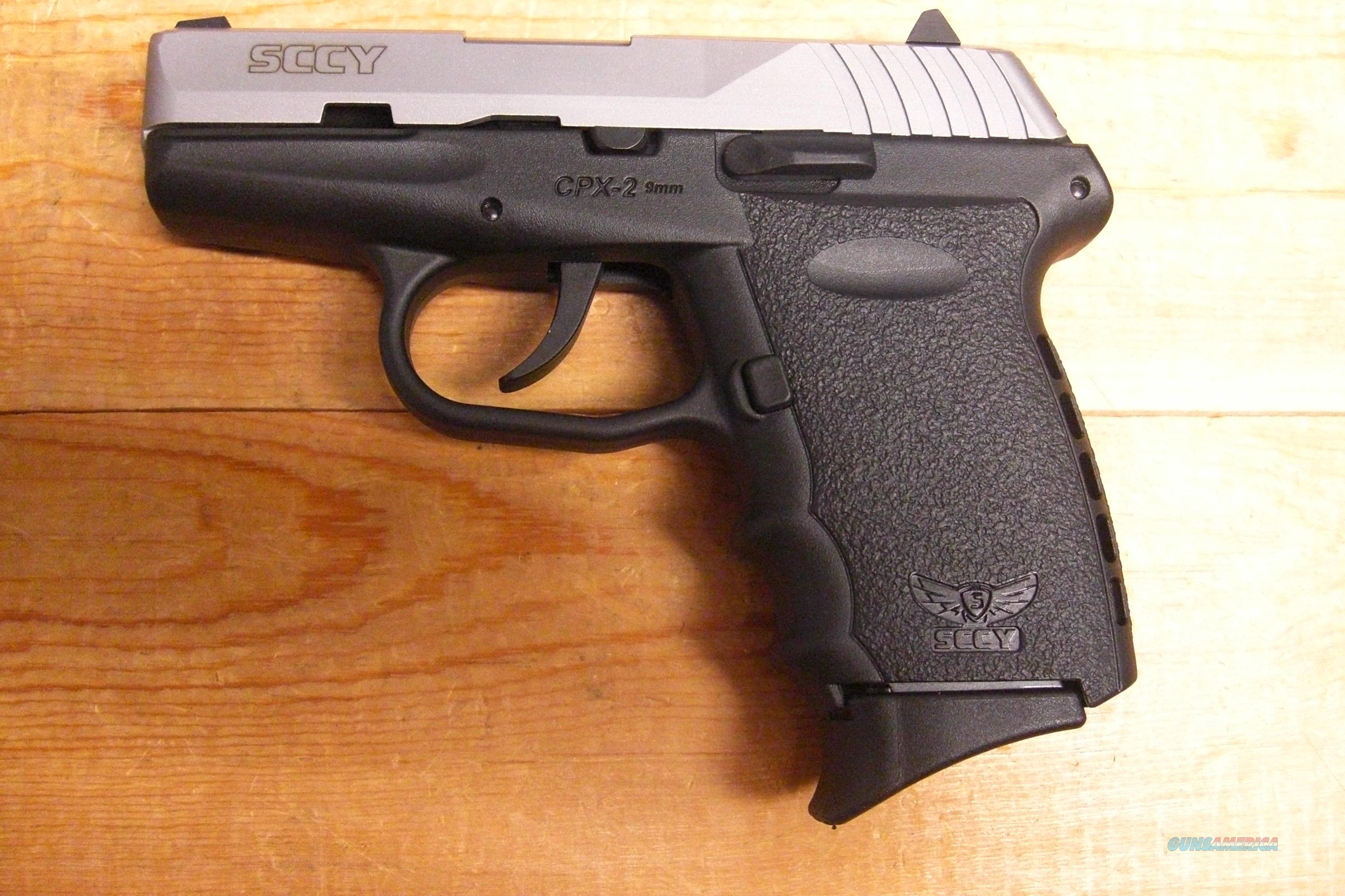 SCCY CPX-2 w/Two Tone Finish  Guns > Pistols > S Misc Pistols