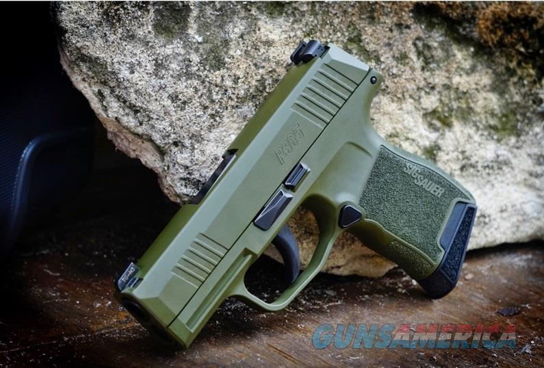 Sig Sauer P365 (SIG365-9-BXR3ODG)  Guns > Pistols > Sig - Sauer/Sigarms Pistols > P365