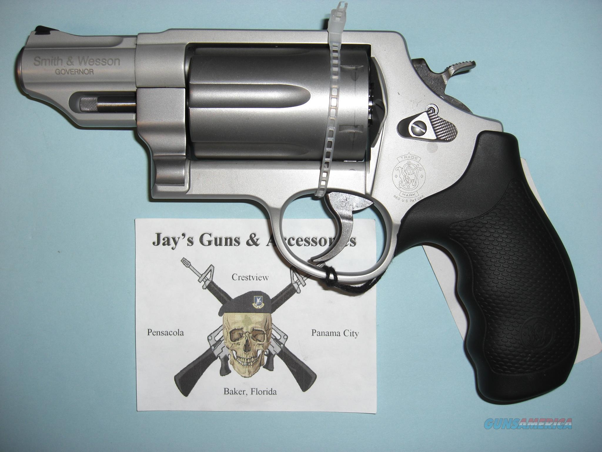 Smith & Wesson Governor (160410) in 3 Calibers  Guns > Pistols > Smith & Wesson Revolvers > Full Frame Revolver