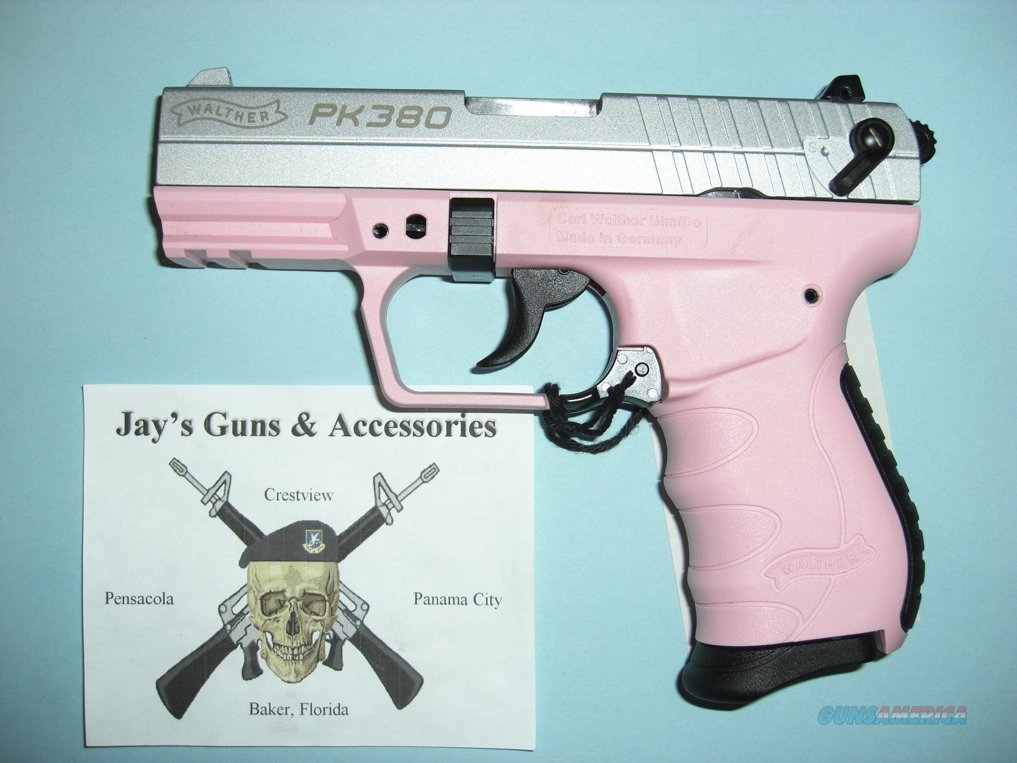 Walther PK380 w/Pink Frame  Guns > Pistols > Walther Pistols > Post WWII > PK380