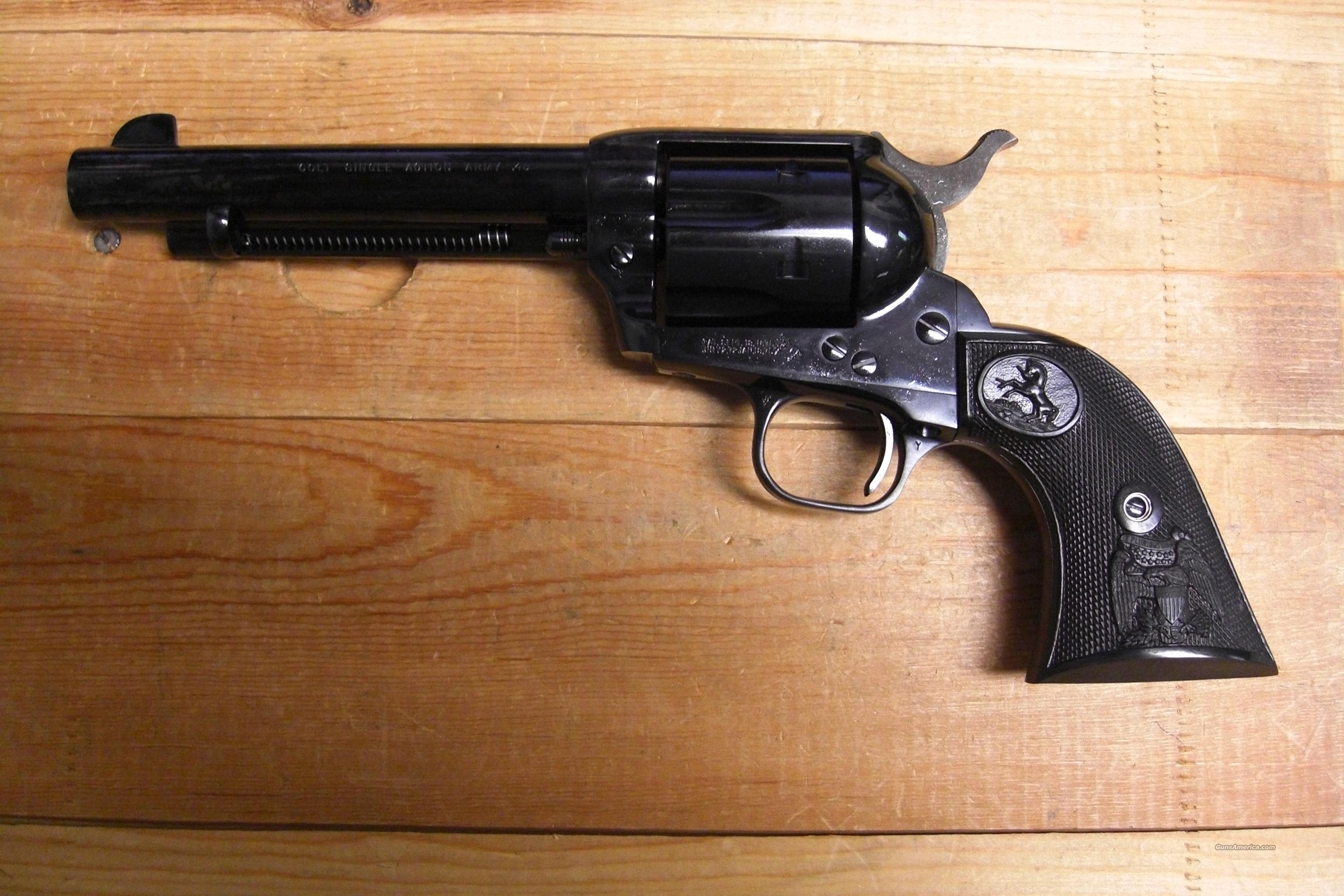 Single Action Army mod.#P1852  .45acp RARE  Guns > Pistols > Colt Single Action Revolvers - Modern (22 Cal.)