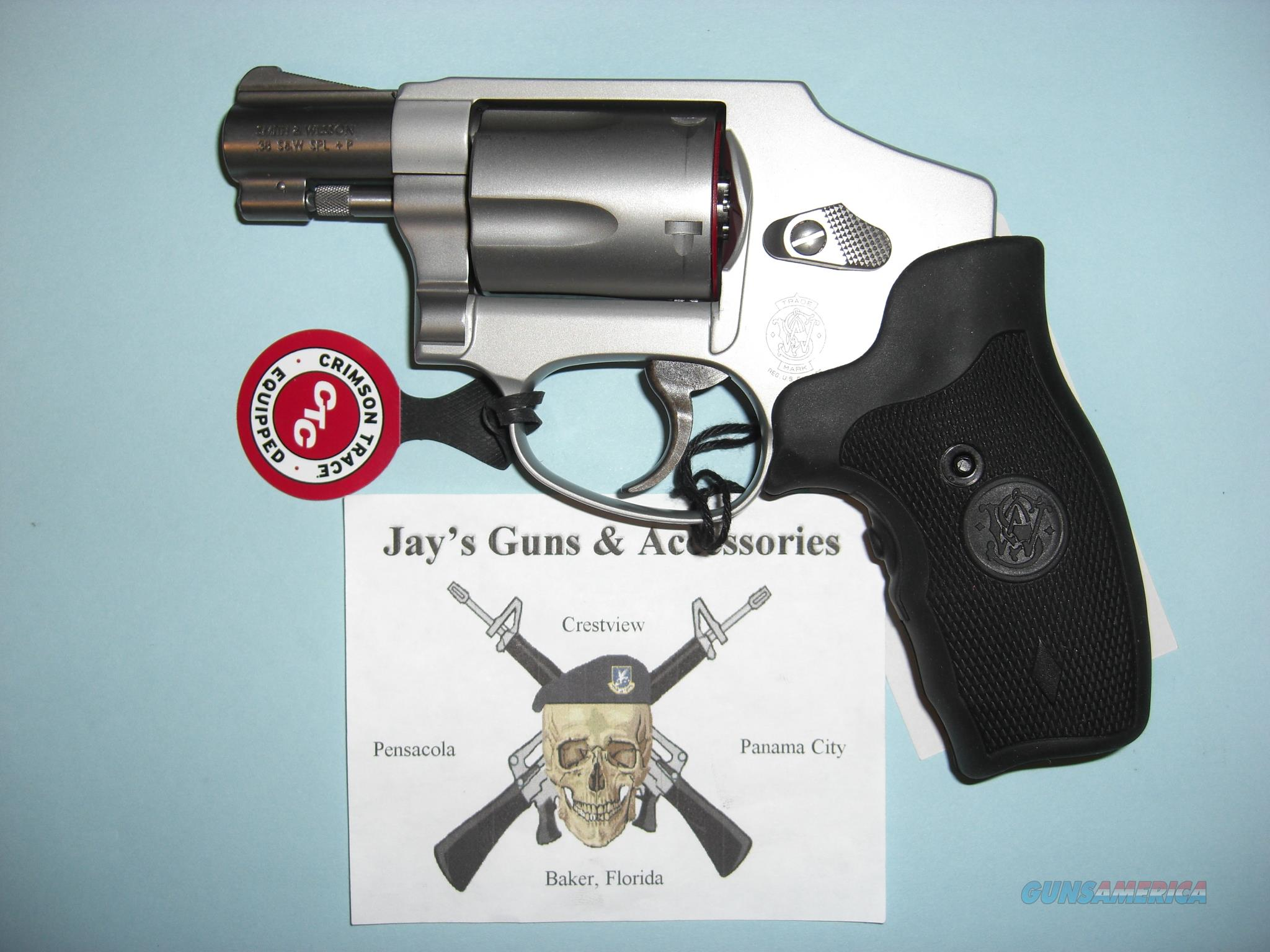 Smith & Wesson 642-1 Airweight (150972) w/Crimson Trace Laser  Guns > Pistols > Smith & Wesson Revolvers > Pocket Pistols
